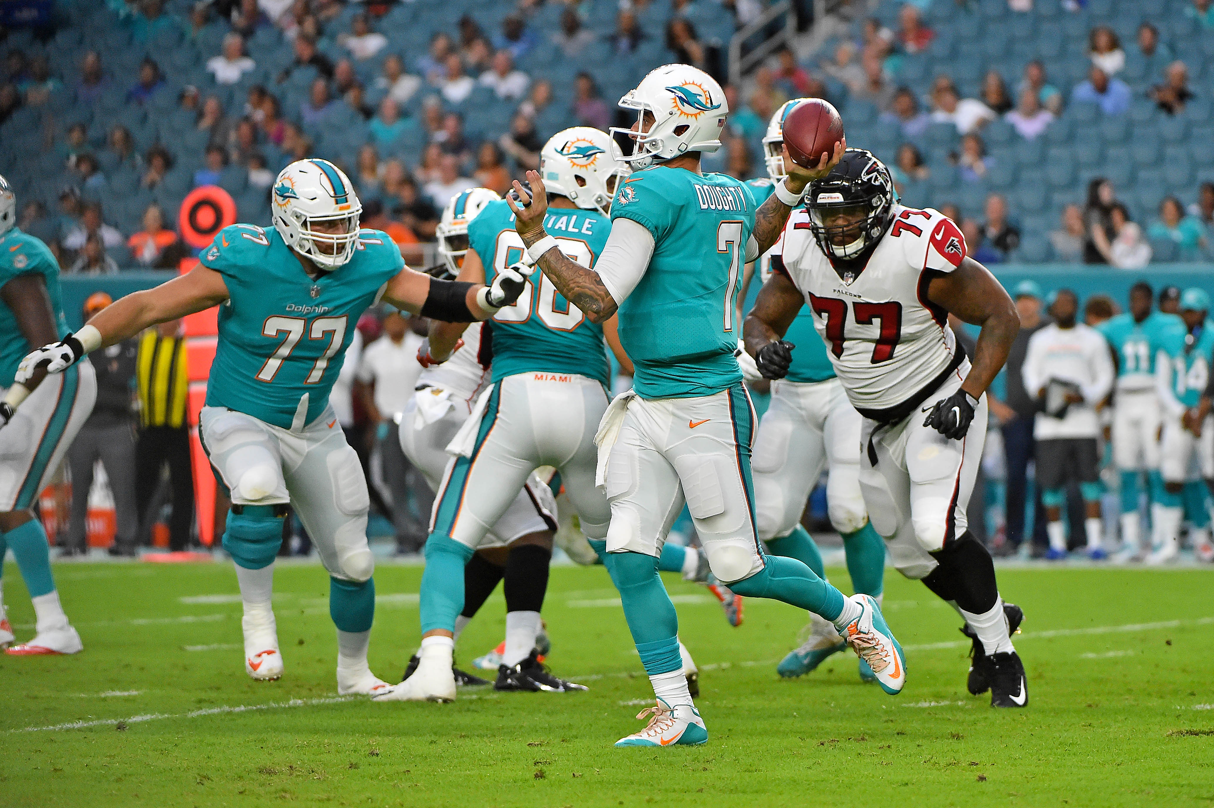 NFL: Atlanta Falcons at Miami Dolphins