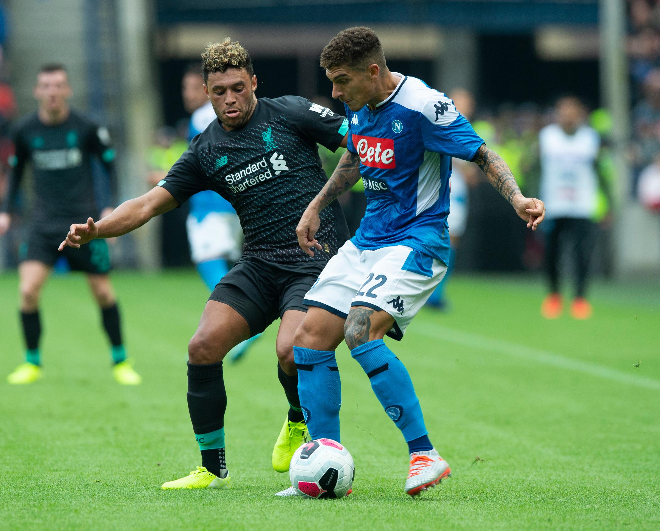 Liverpool v SSC Napoli - Pre-Season Friendly