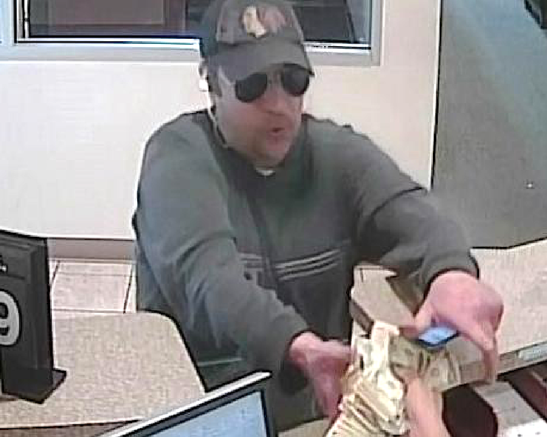 The FBI says this man robbed a Fifth Third Bank branch in the Loop on Sept. 16, 2019. | FBI