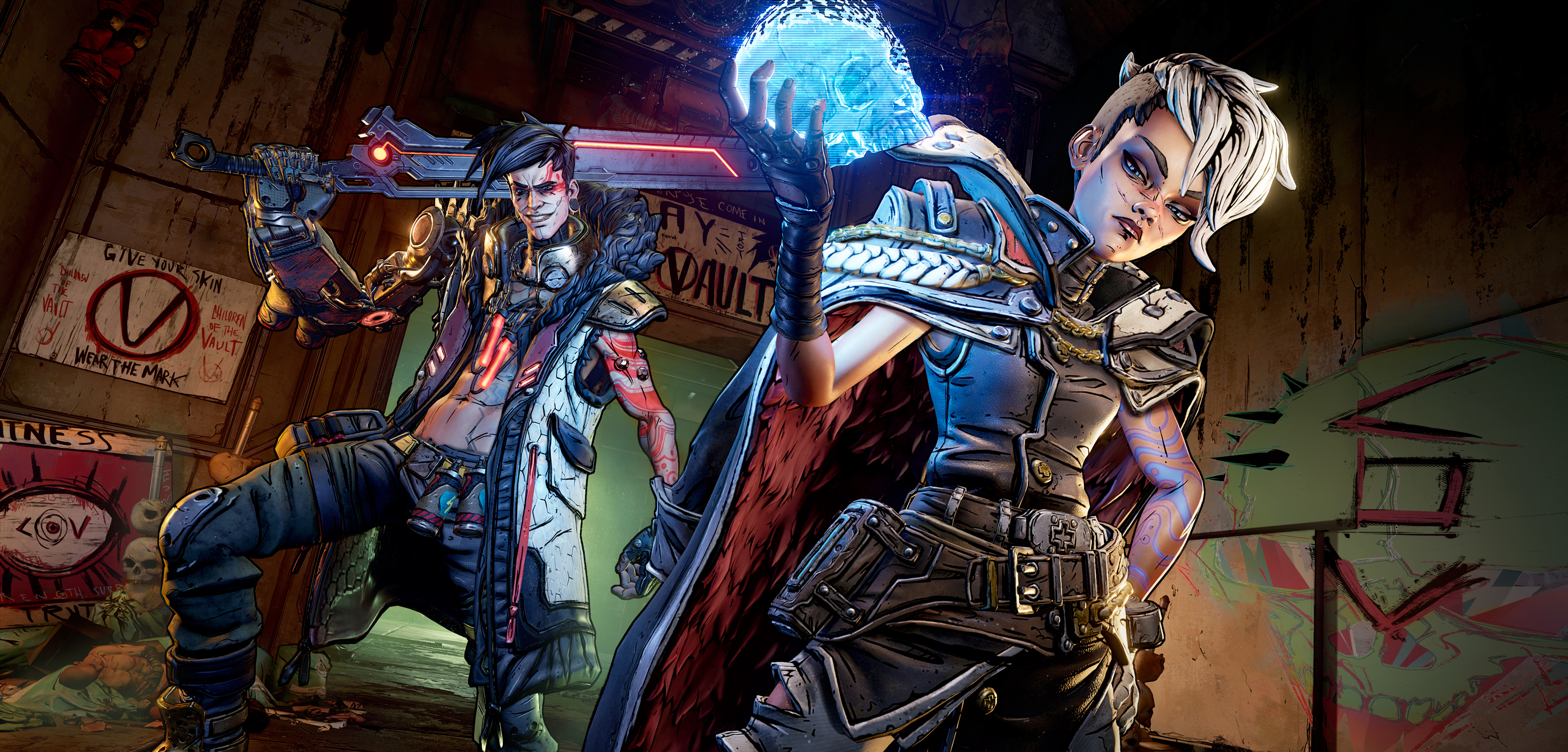 The Calypso twins in Borderlands 3