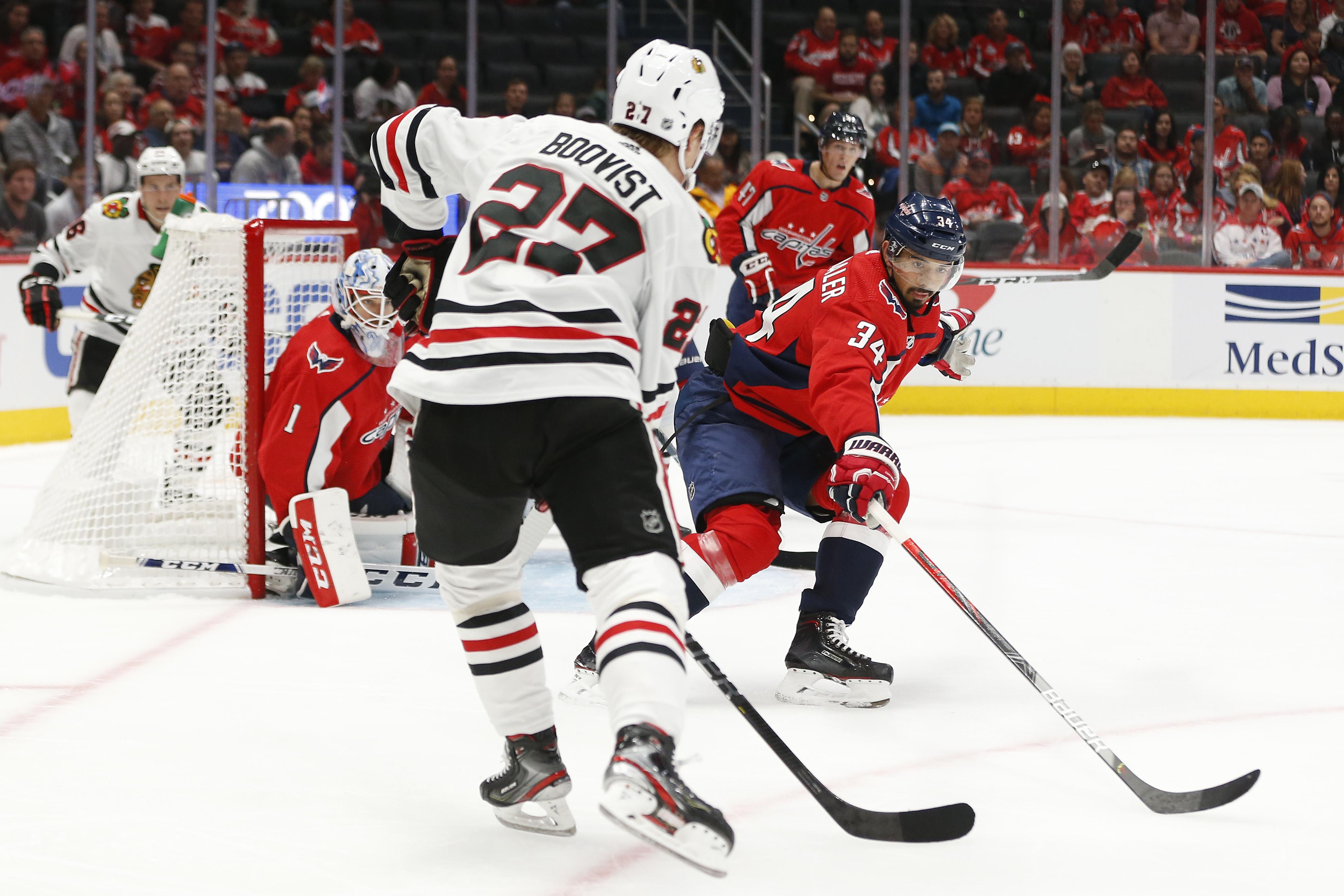 NHL: Preseason-Chicago Blackhawks at Washington Capitals
