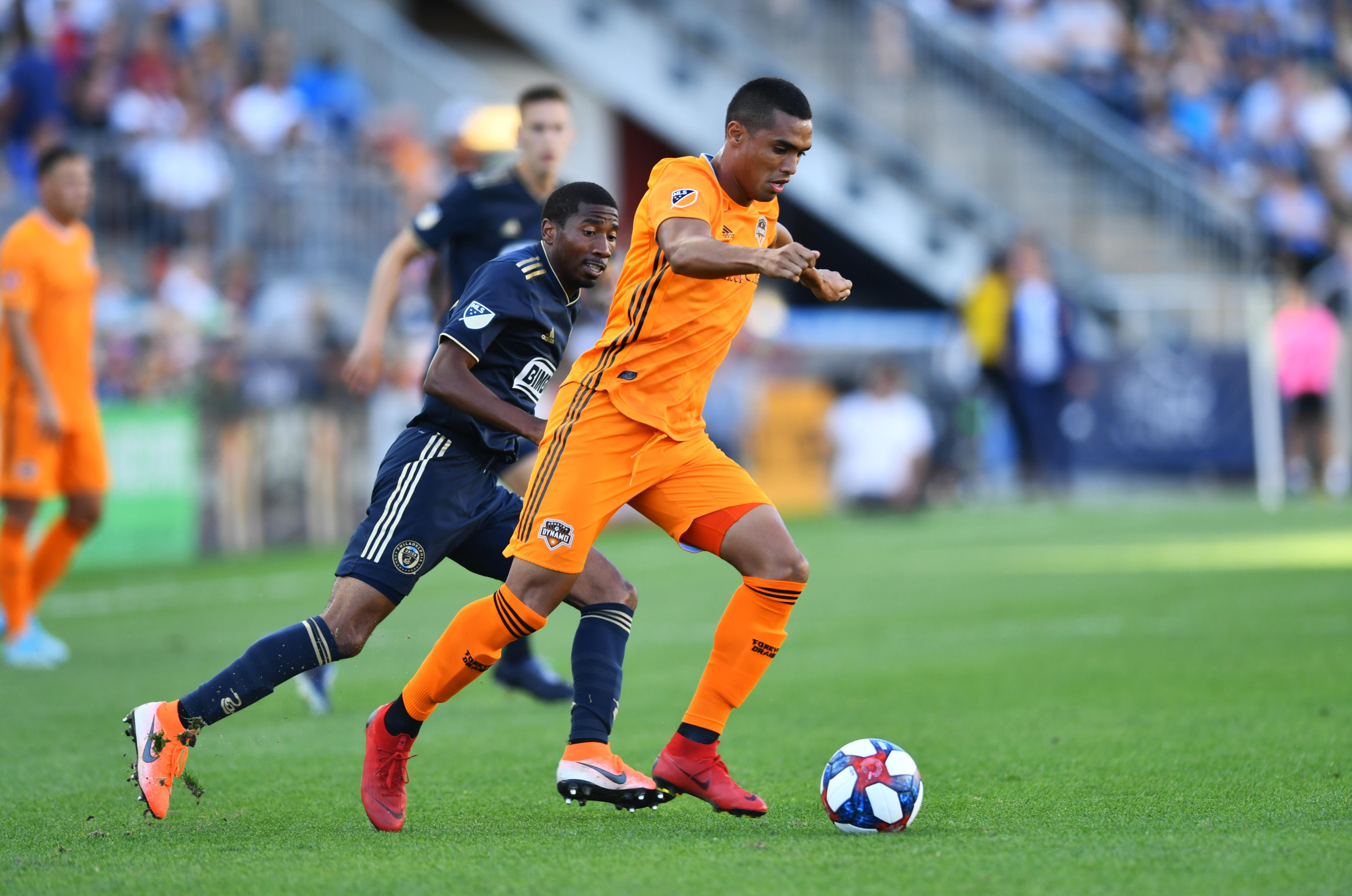 SOCCER: AUG 11 MLS - Houston Dynamo at Philadelphia Union