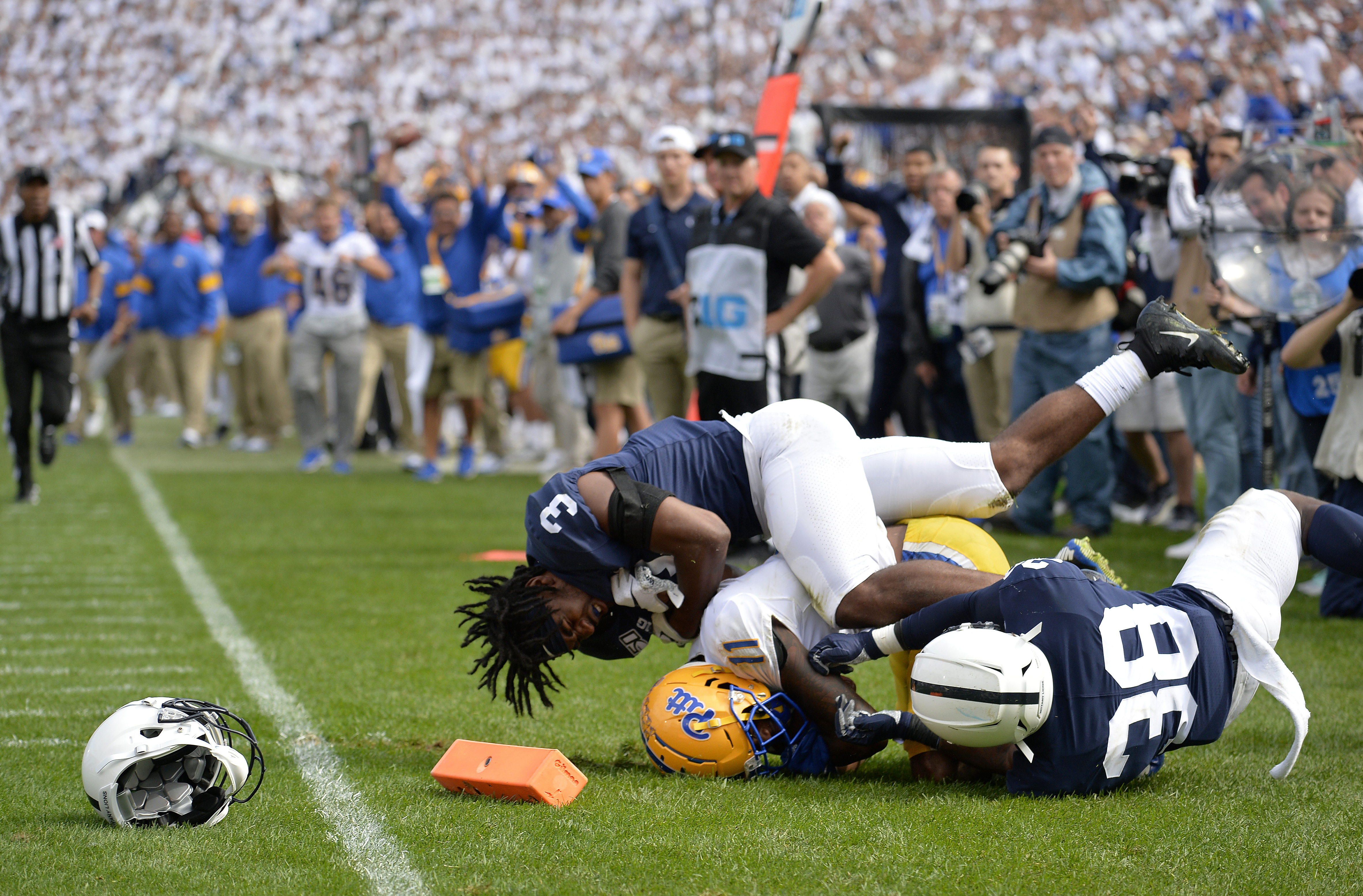 COLLEGE FOOTBALL: SEP 14 Pitt at Penn State