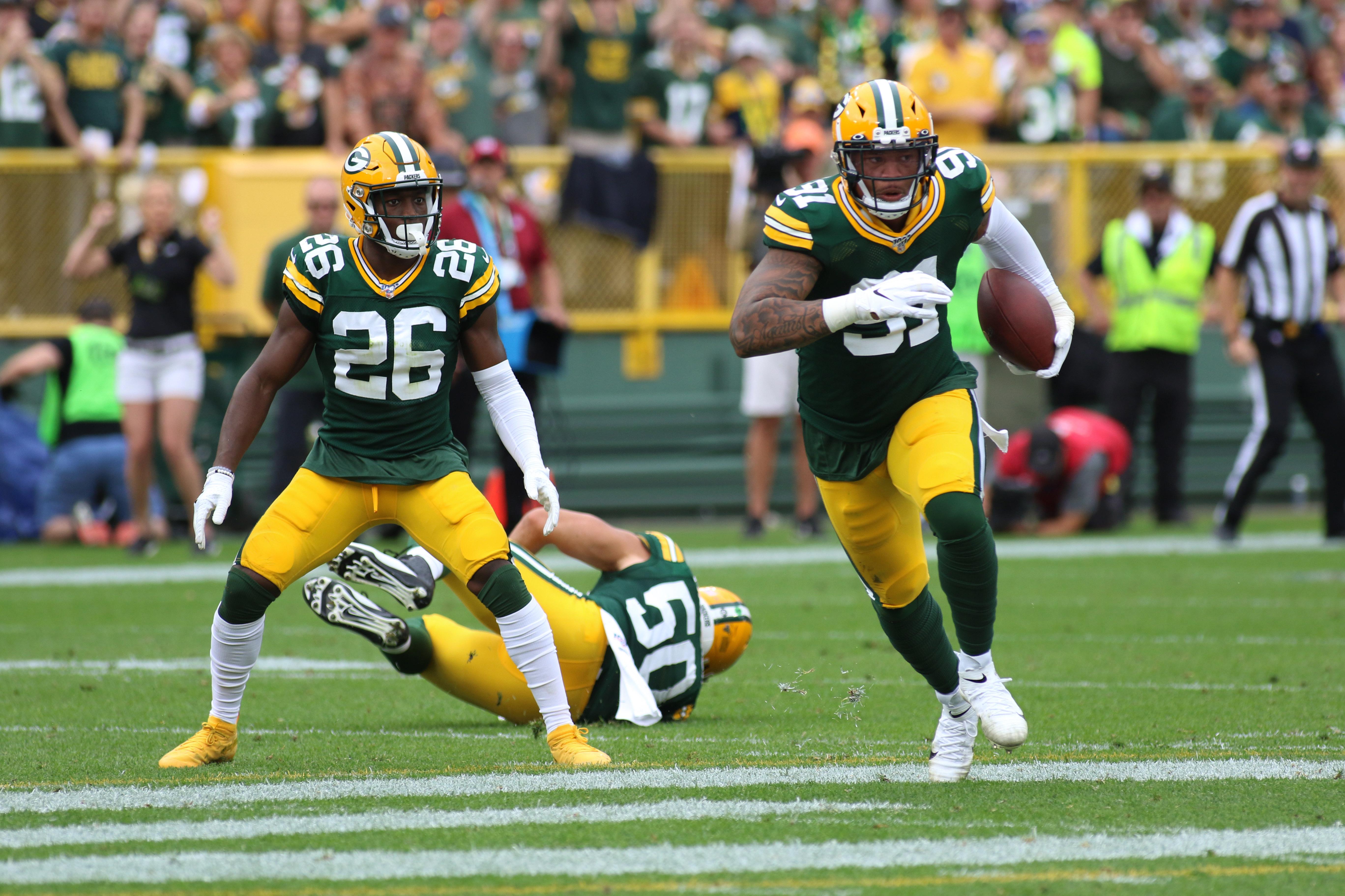 NFL: SEP 15 Vikings at Packers