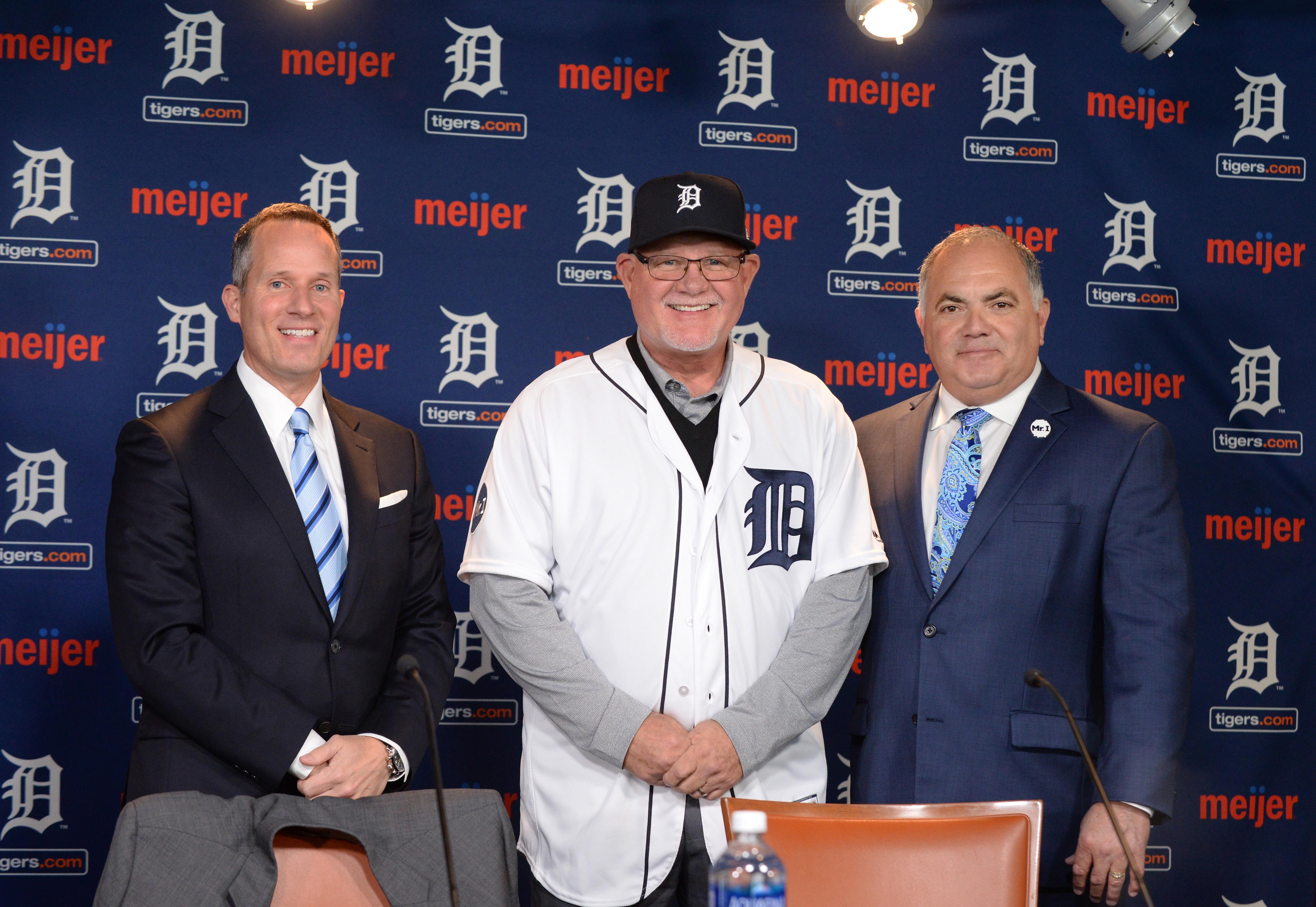 Detroit Tigers Introduce Ron Gardenhire