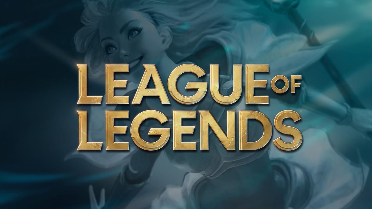 The new League of Legends logo, which gets rid of the shield motif