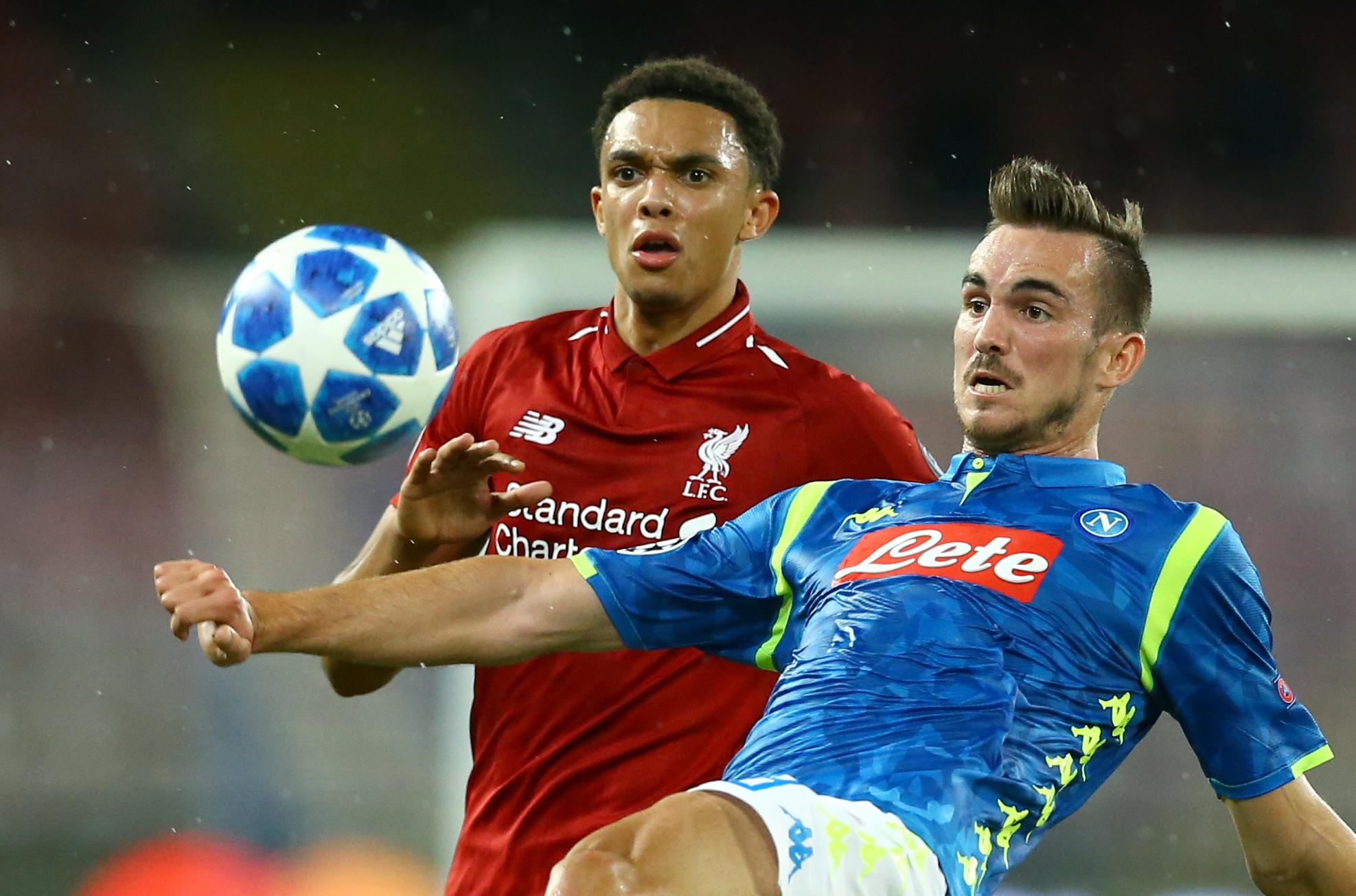 SSC Napoli v FC Liverpool - UEFA Champions League Group C