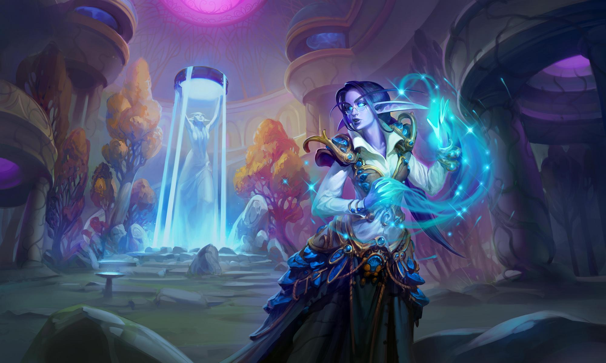 Hearthstone's new campaign brings dual classes to a wild setting