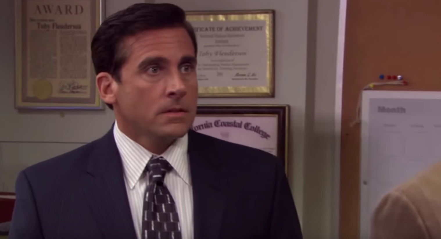"""Steve Carell appears in """"The Office."""""""