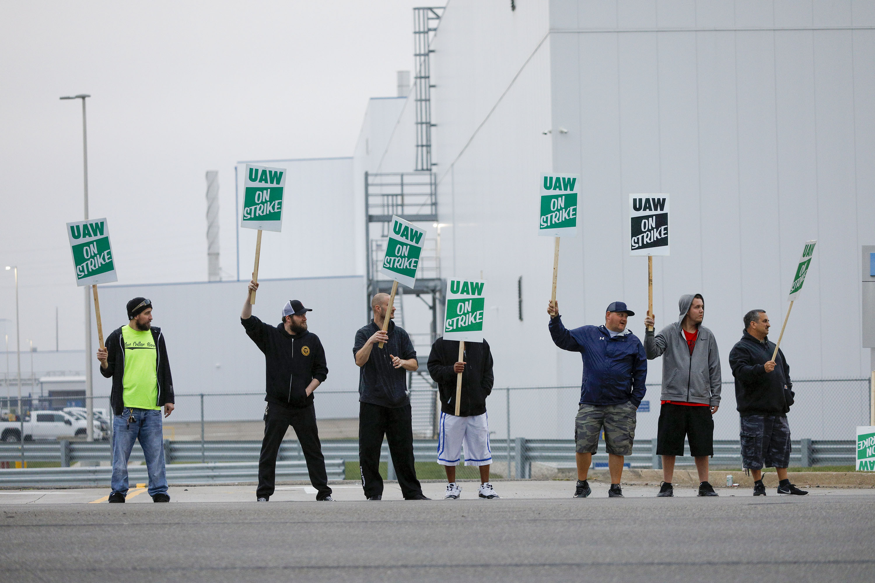 GM workers are on strike to accomplish what Trump couldn't