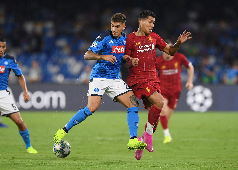 SSC Napoli v Liverpool FC: Group E - UEFA Champions League