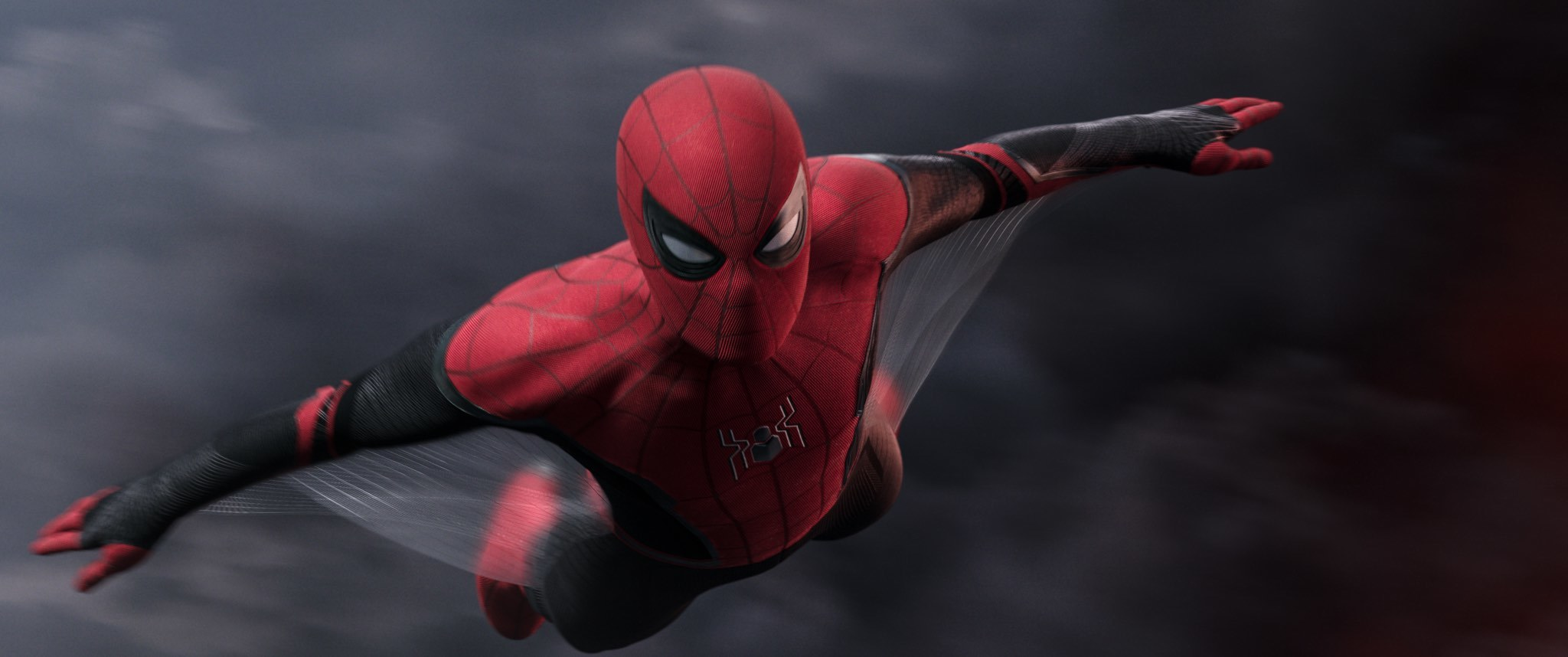 "Spider-Man in Columbia Pictures' ""Spider-Man: Far From Home."""