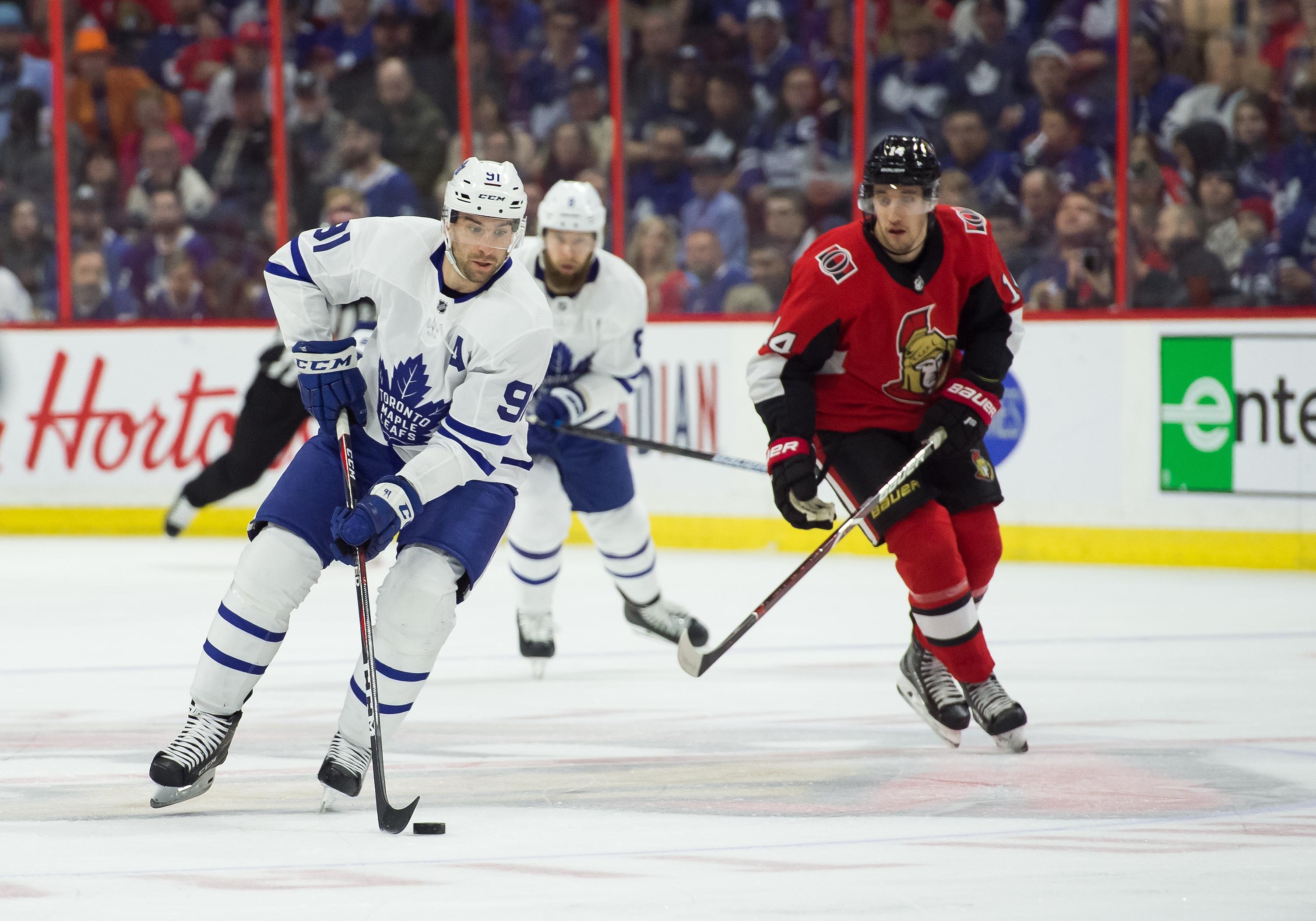 NHL: MAR 30 Leafs at Senators