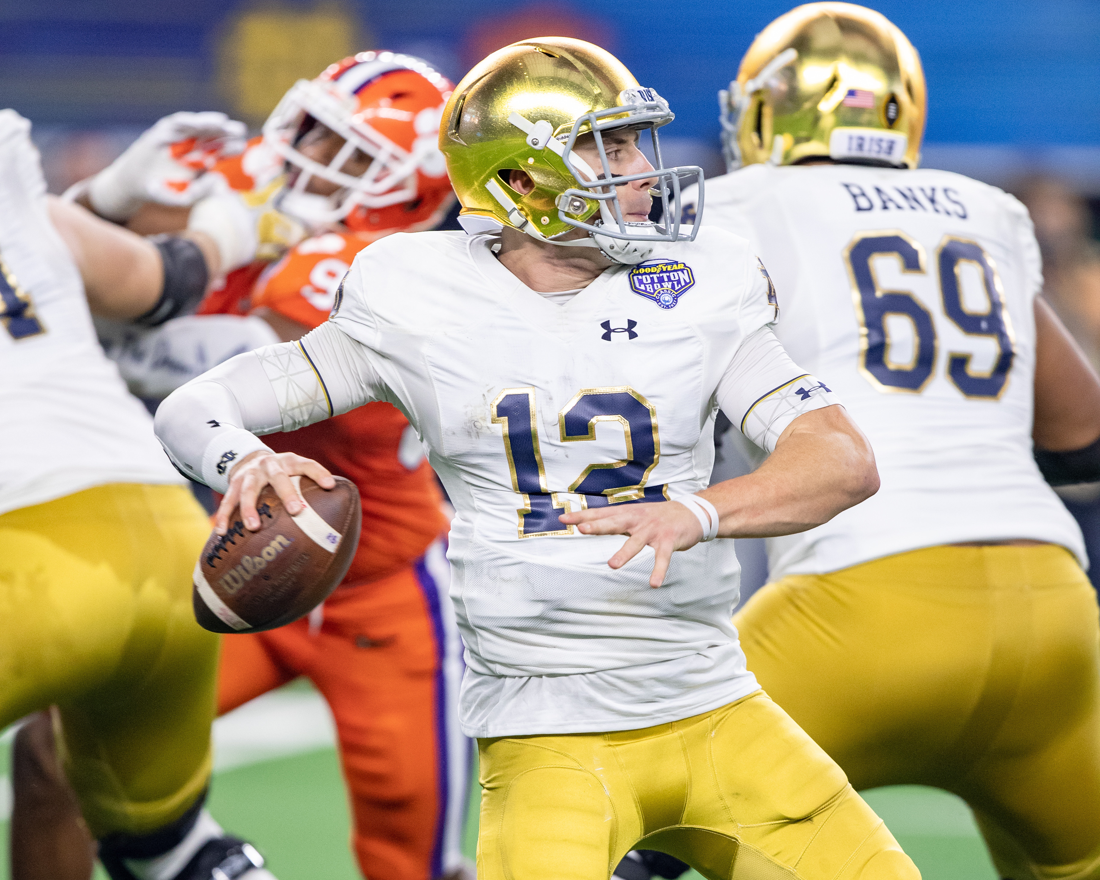 Notre Dame a double-digit underdog at Georgia on Saturday