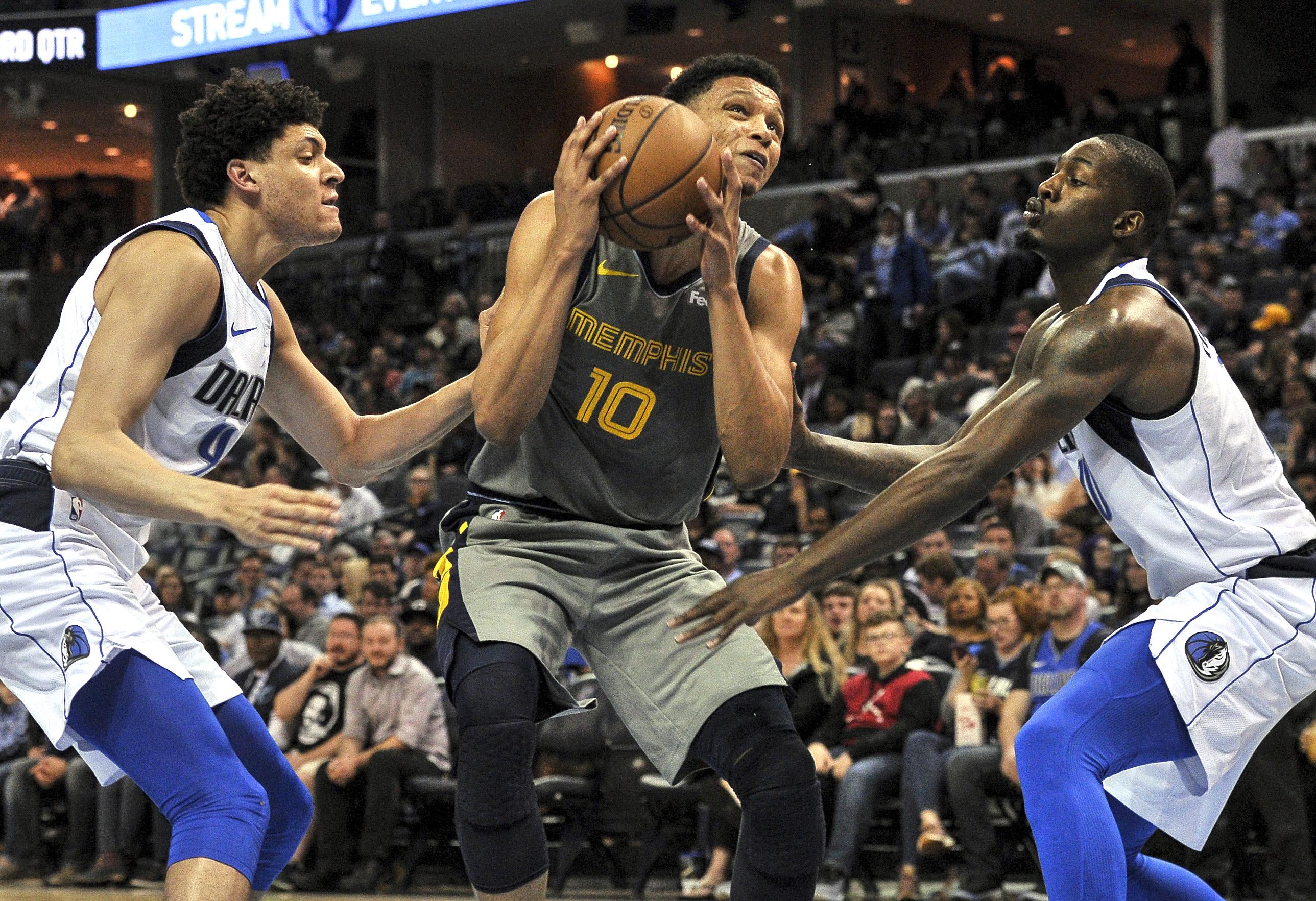 NBA: Dallas Mavericks at Memphis Grizzlies