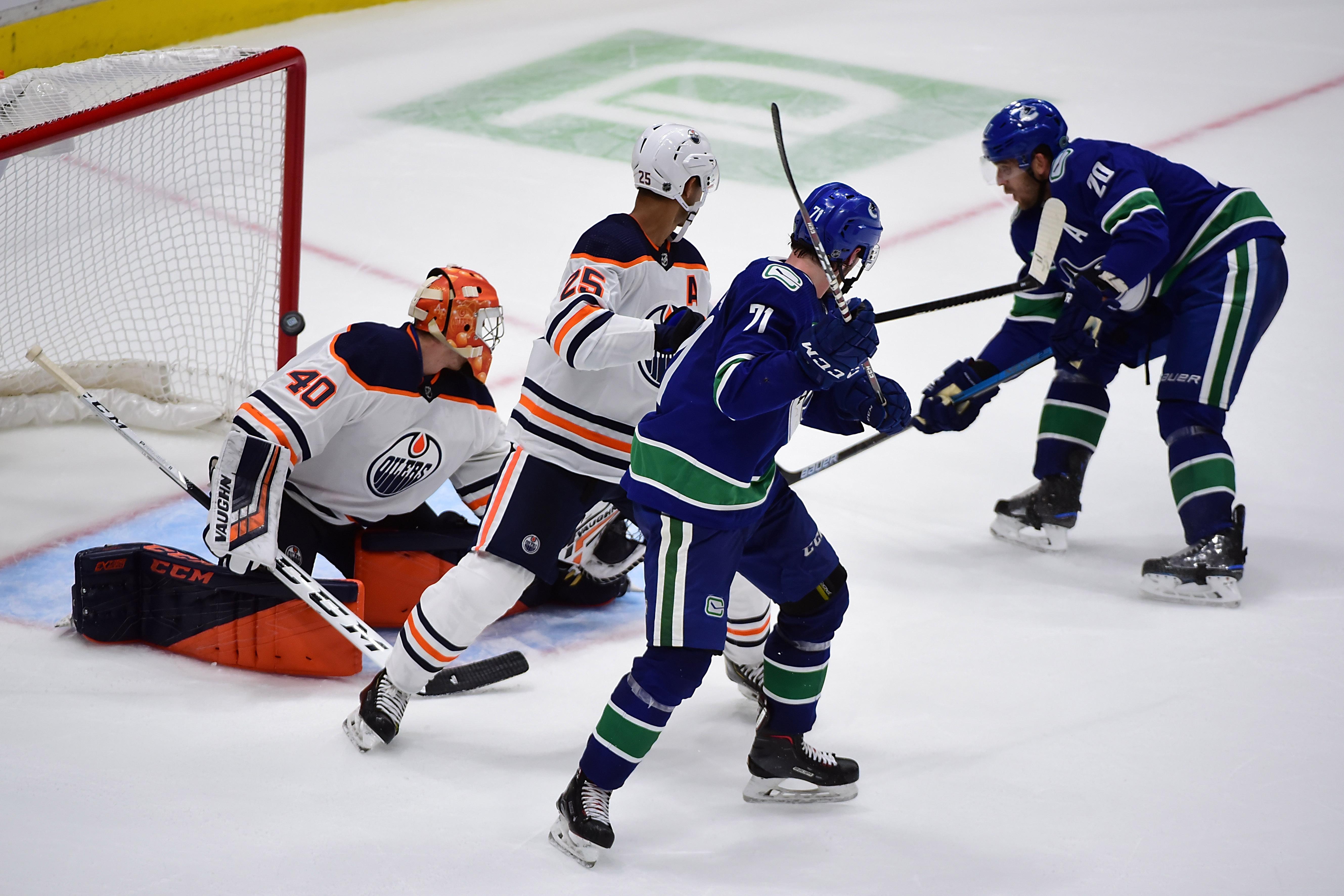NHL: Preseason-Edmonton Oilers at Vancouver Canucks
