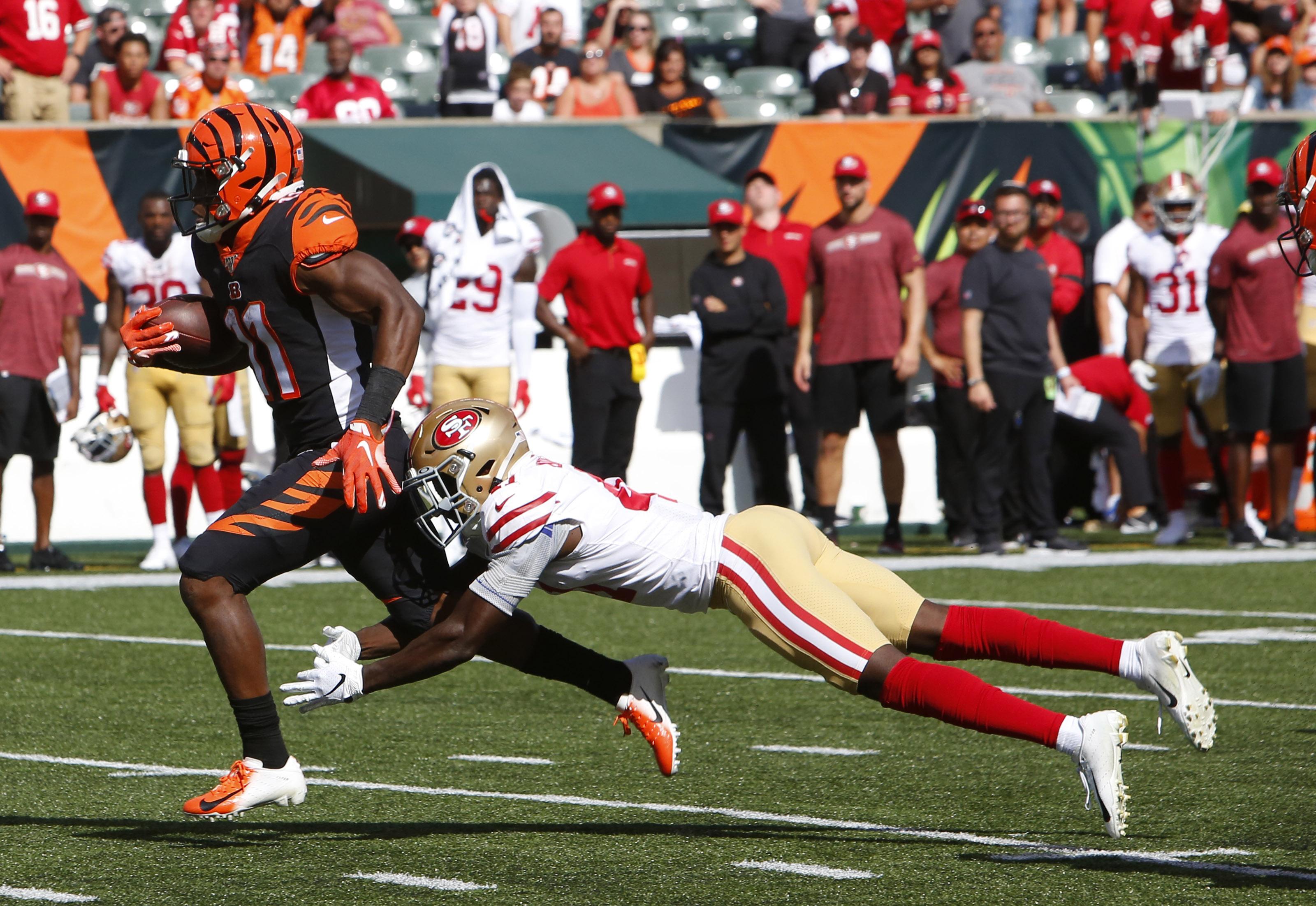 NFL: San Francisco 49ers at Cincinnati Bengals