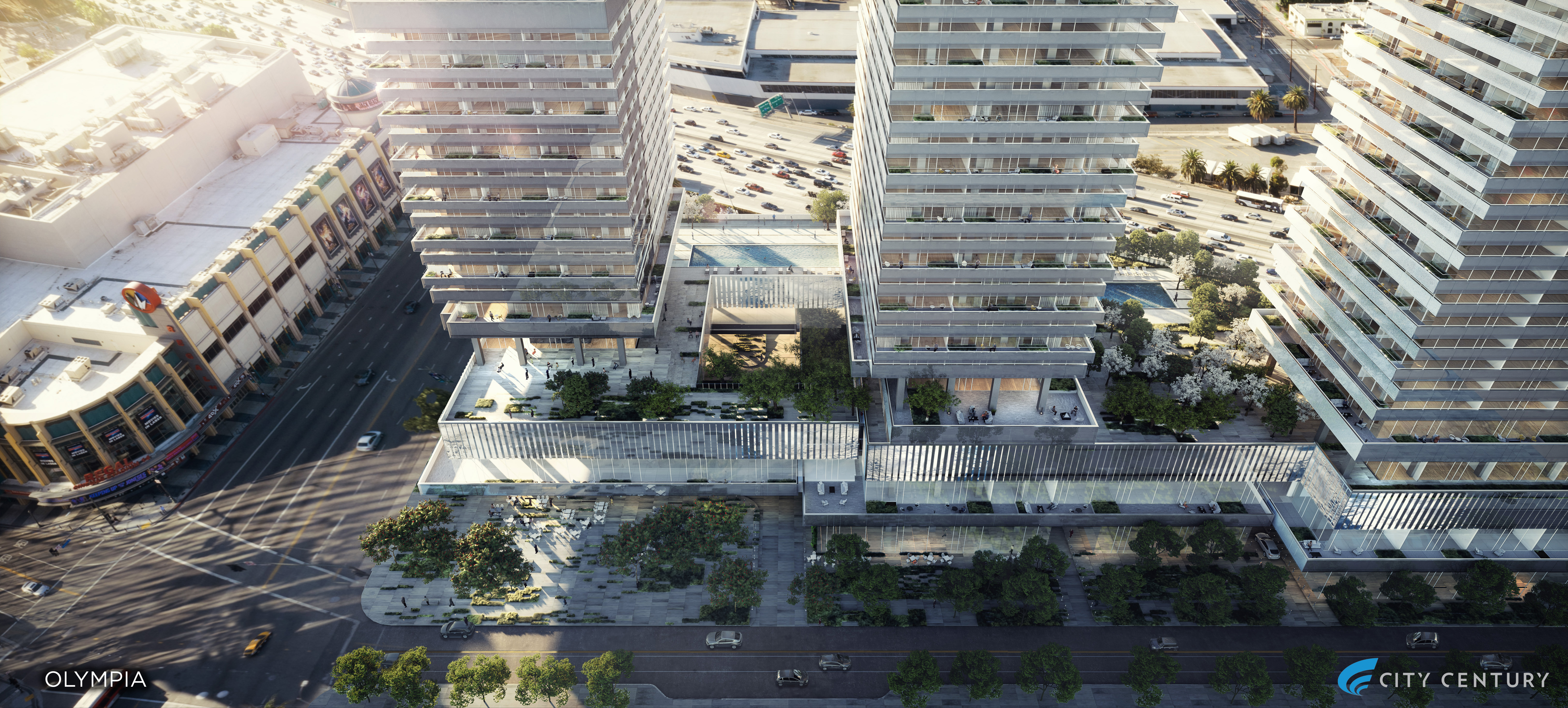 Freeway-facing balconies return to Downtown megadevelopment