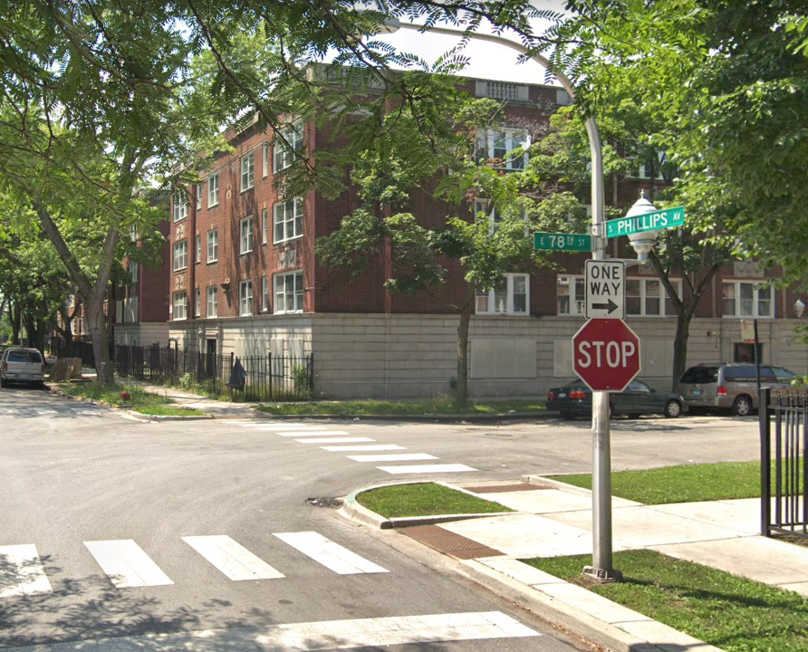 A man was shot in a drive-by Sept. 18, 2019, in the 7800 block of South Phillips Avenue in South Shore.