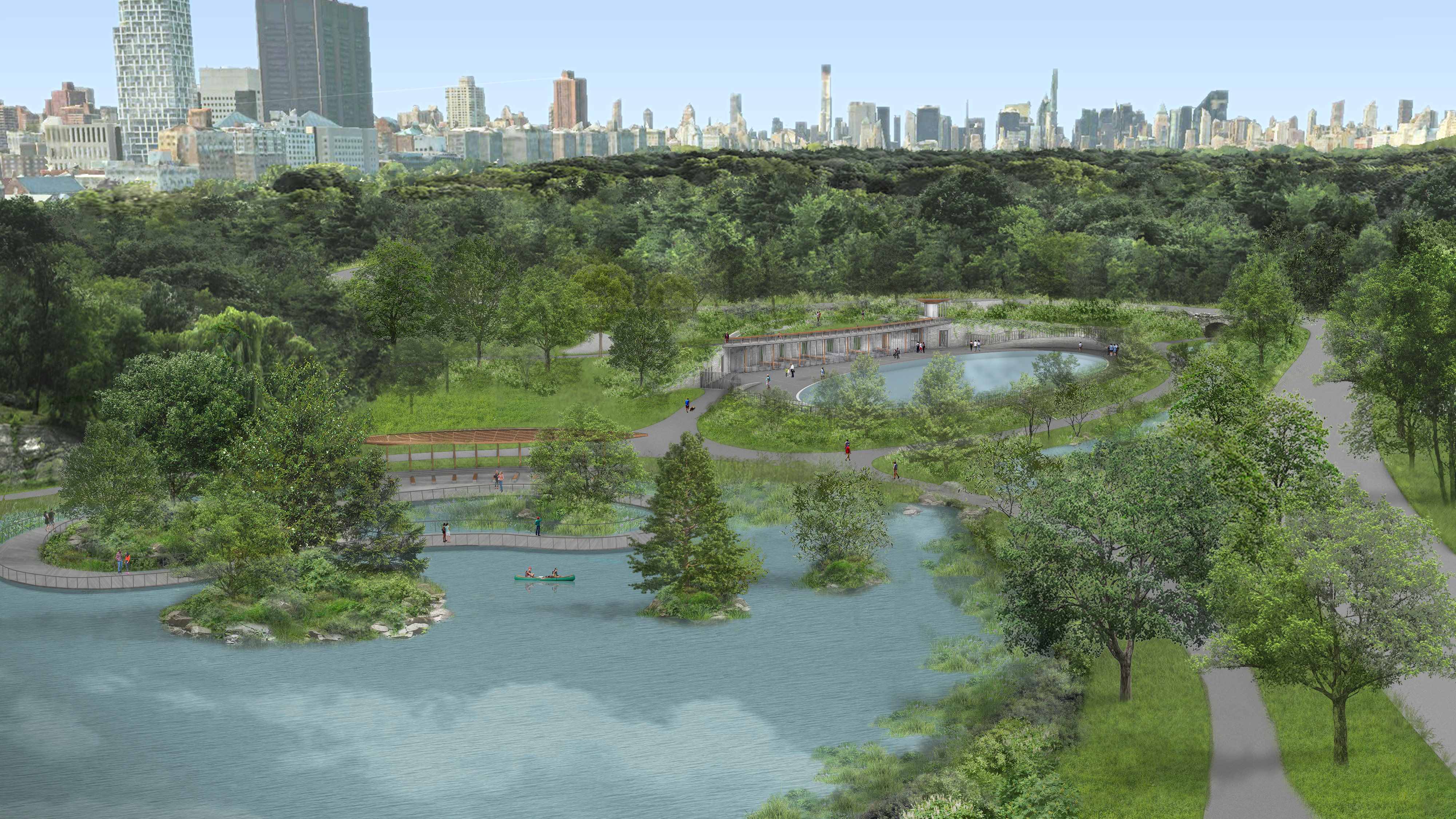Central Park's $150M revamp includes new pool and ice rink, landscape fixes