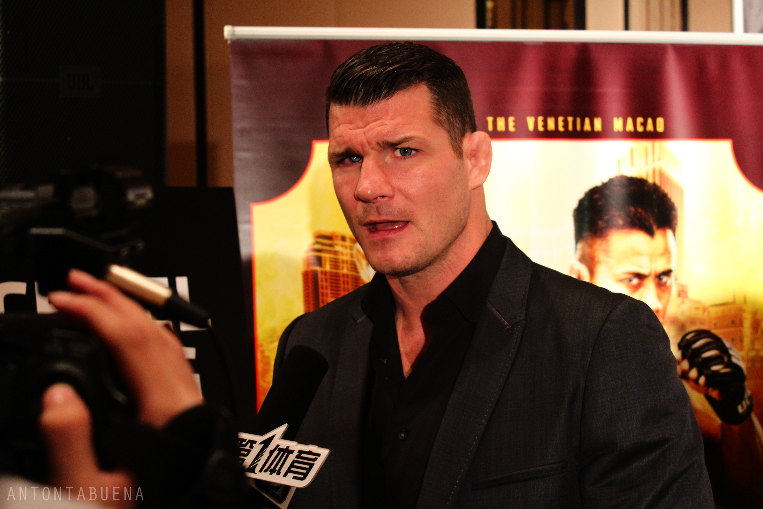 Michael Bisping, photo by Anton Tabuena