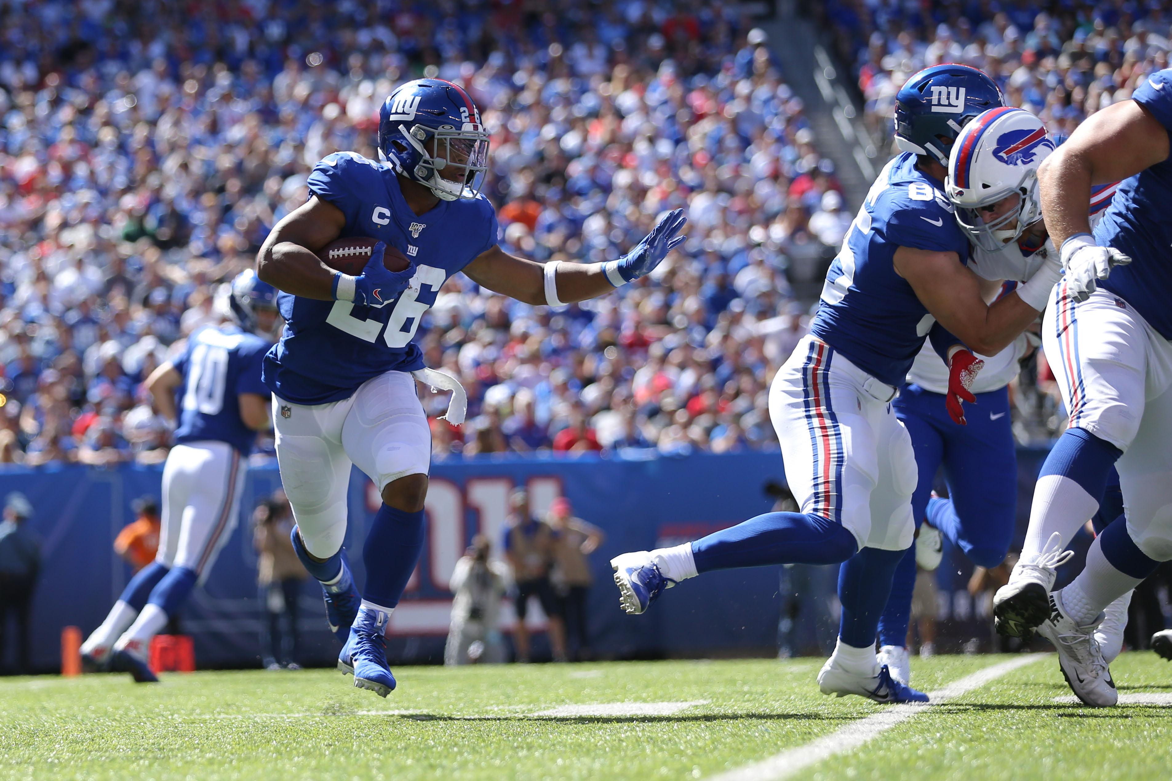 NFL: Buffalo Bills at New York Giants