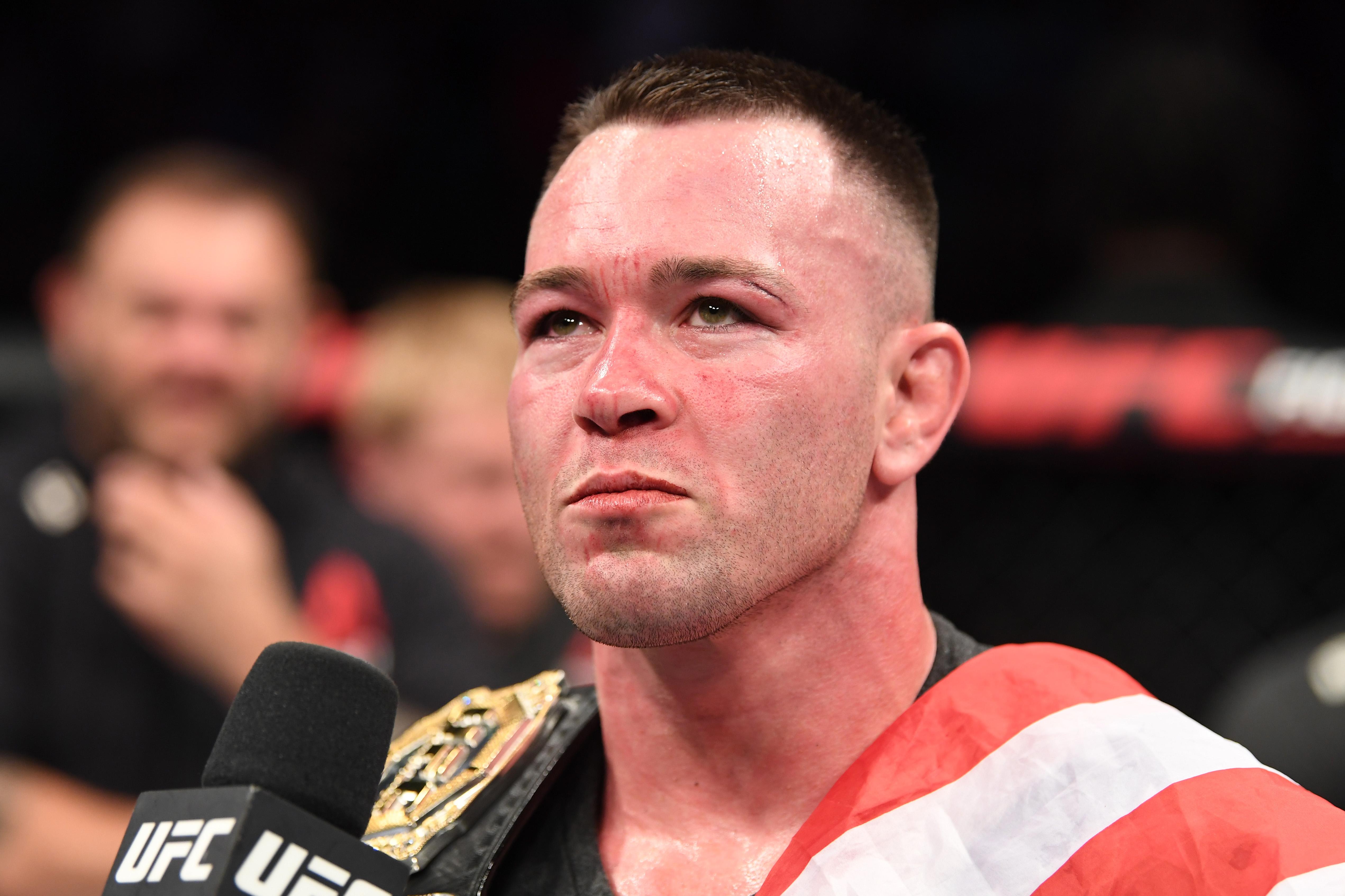 Colby Covington Kamaru Usman UFC 244