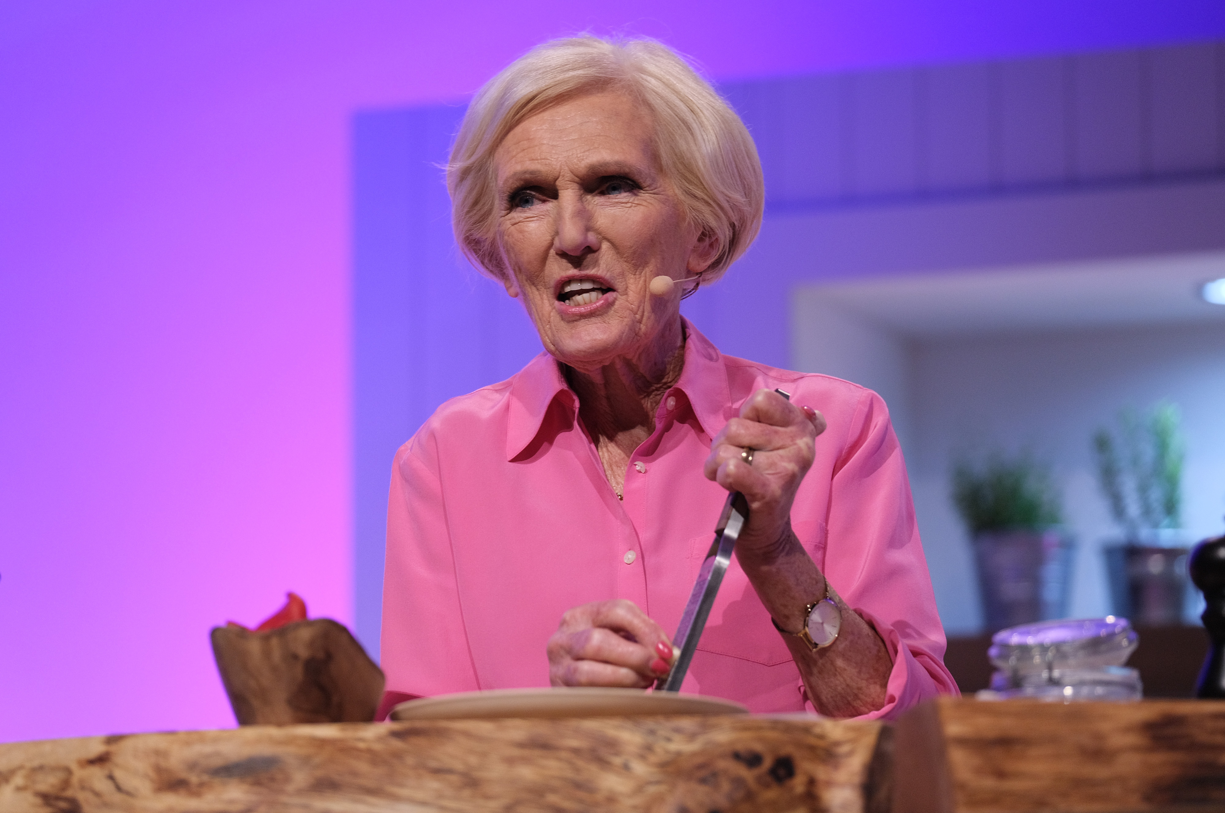 Mary Berry at the Good Food Show