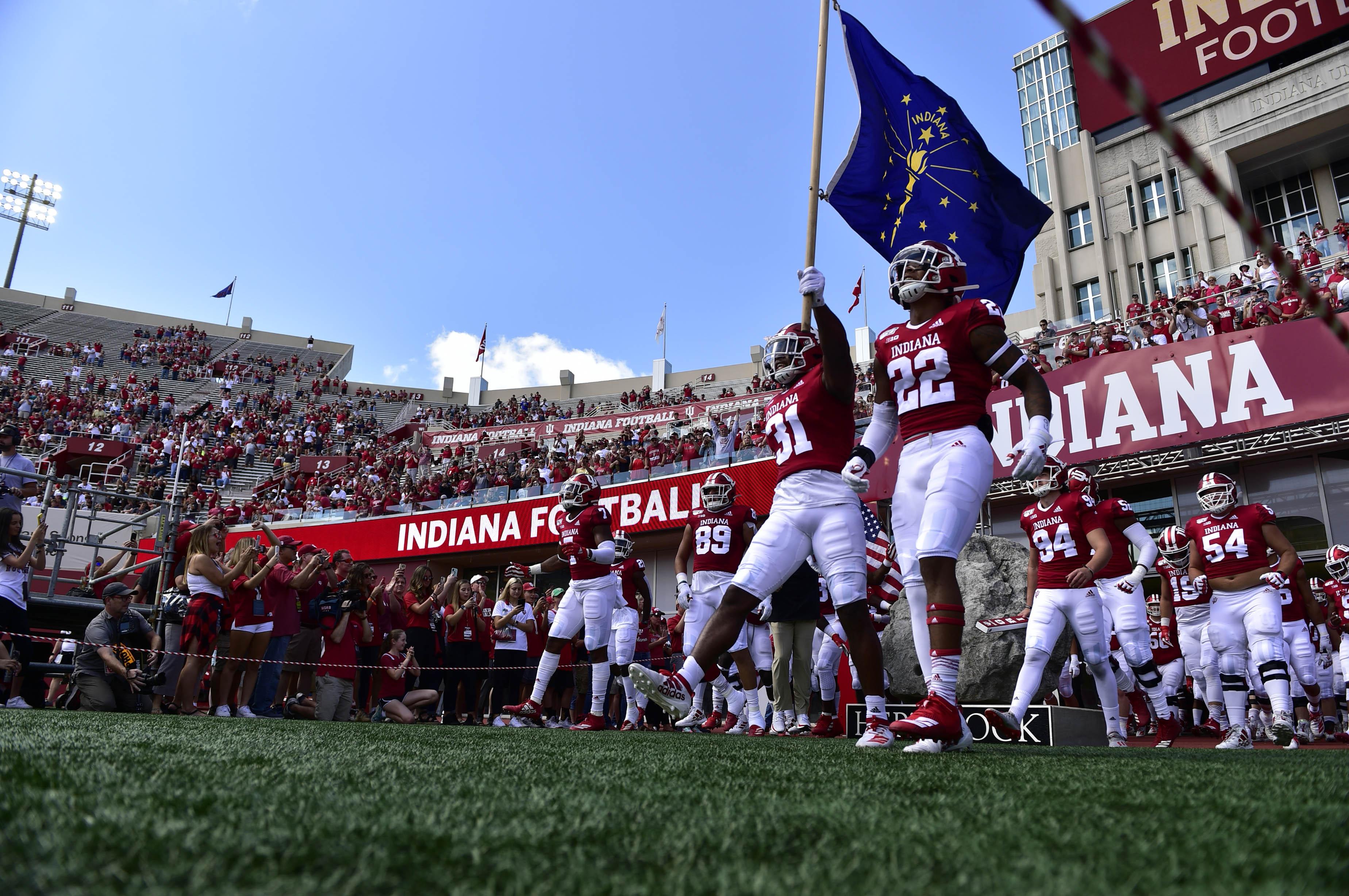 NCAA Football: Eastern Illinois at Indiana