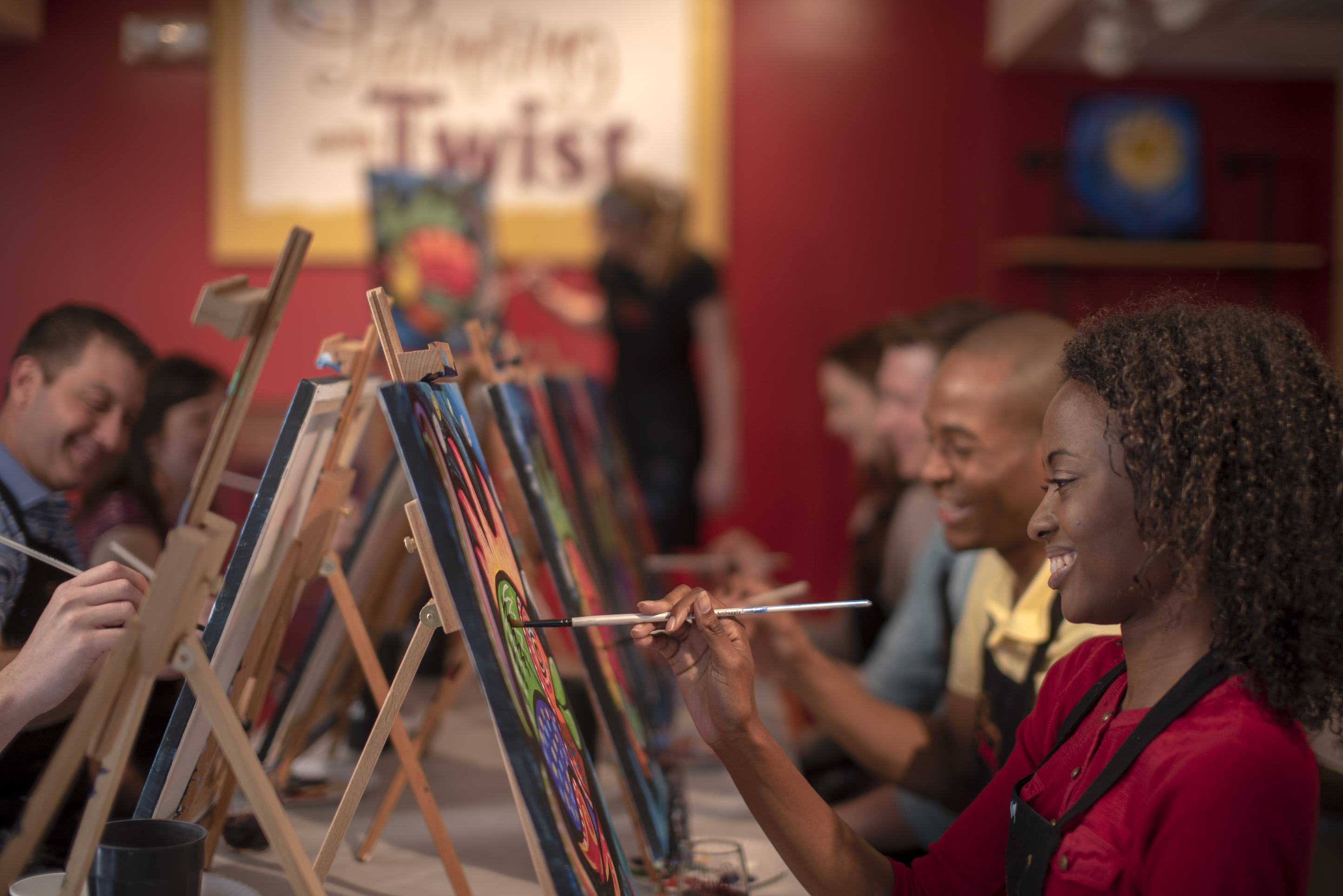 In recent years, the interactive painting industry has become a global sensation. Around the world, adults can spend their nights out learning to paint in a relaxed, BYOB setting. Thousands of franchises exist to help us all unleash our inner creative.