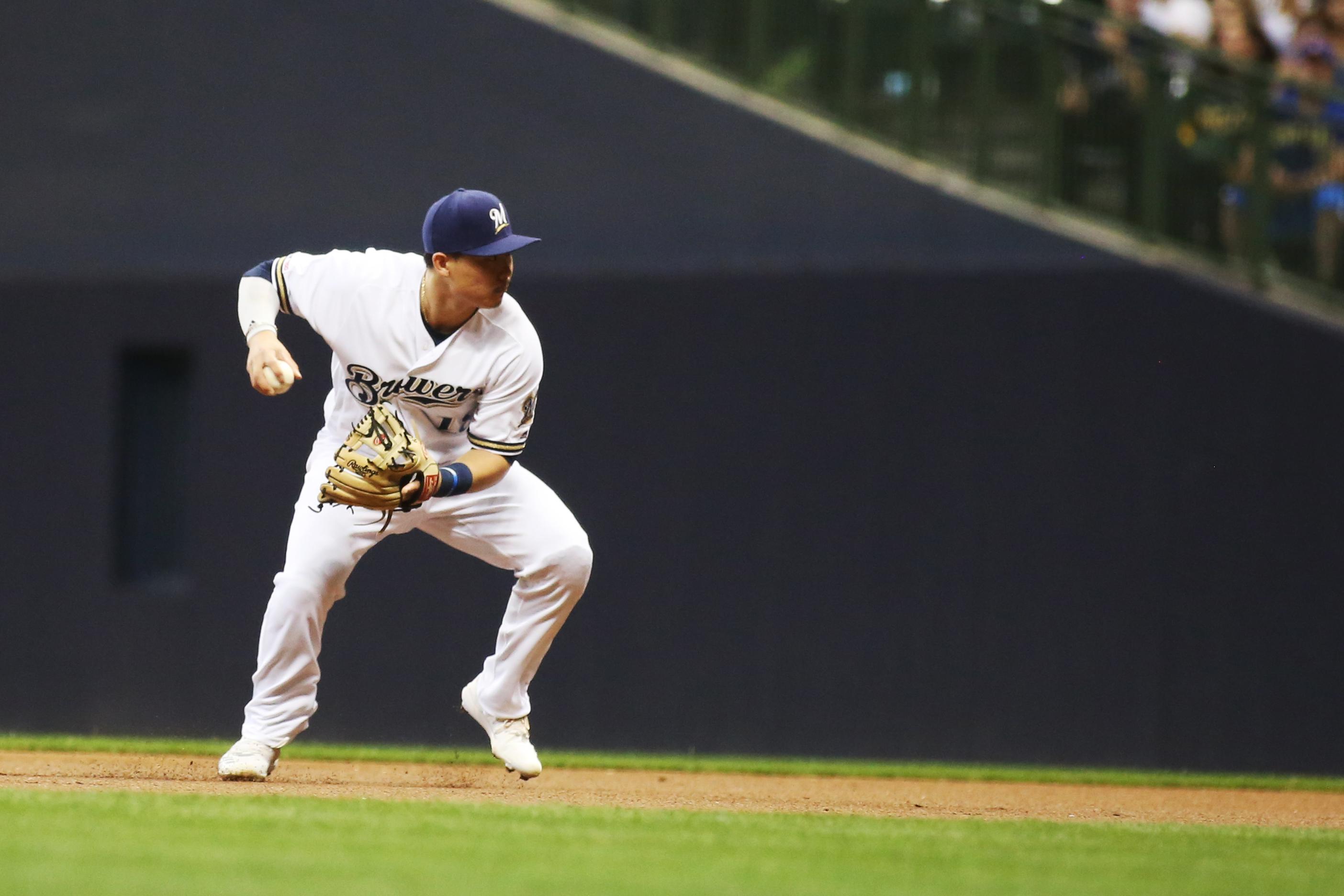 MLB: SEP 18 Padres at Brewers