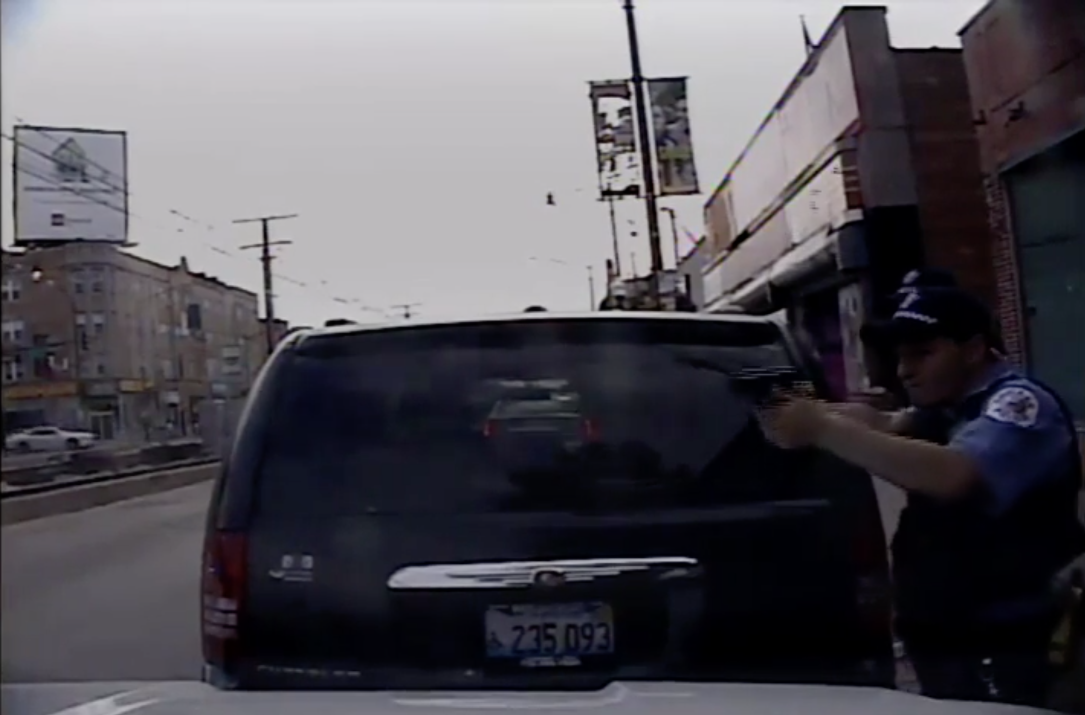 Screenshot of video released by the Civilian Office of Police Accountability.