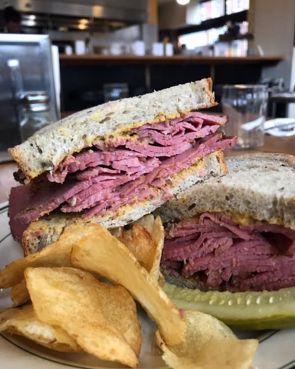 A picture of sandwiches at Kenny & Zuke's