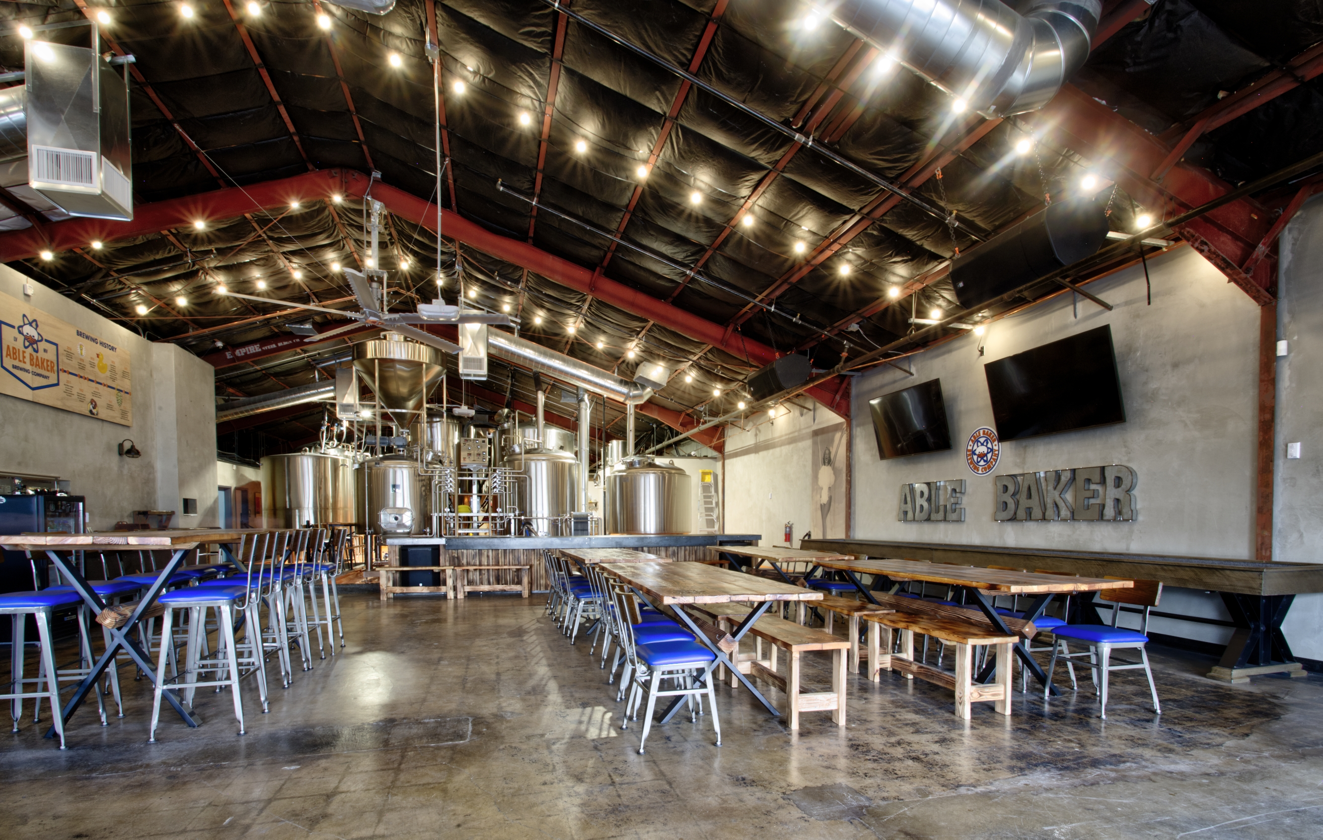 An Atomic Age-Themed Brewery Debuts Downtown