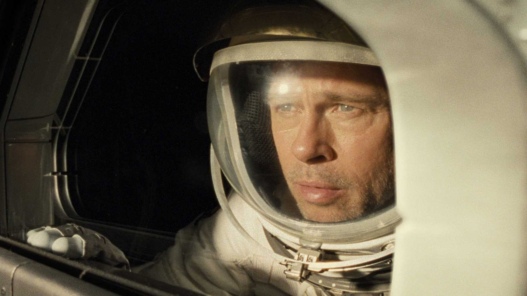 Ad Astra is about lonely Brad Pitt in space. It's also about an absent God.