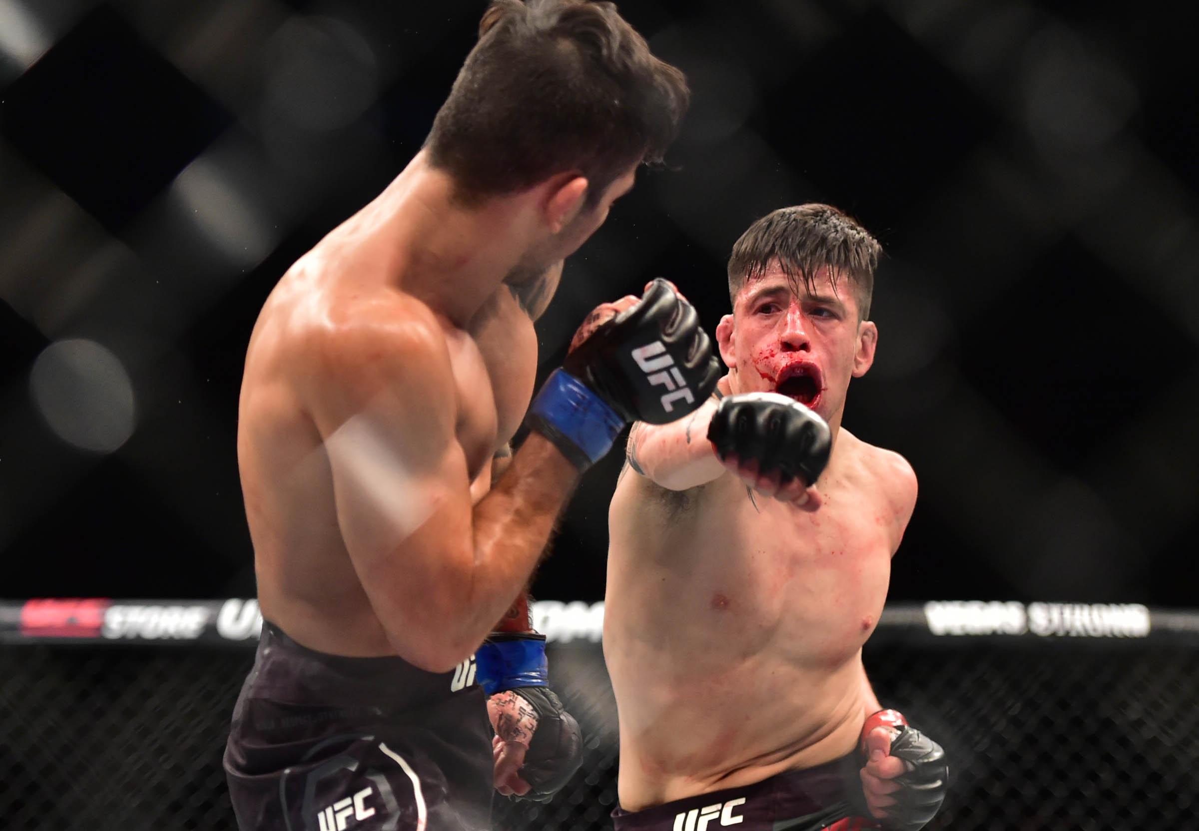 MMA: UFC Fight Night-Moreno vs Pantoja