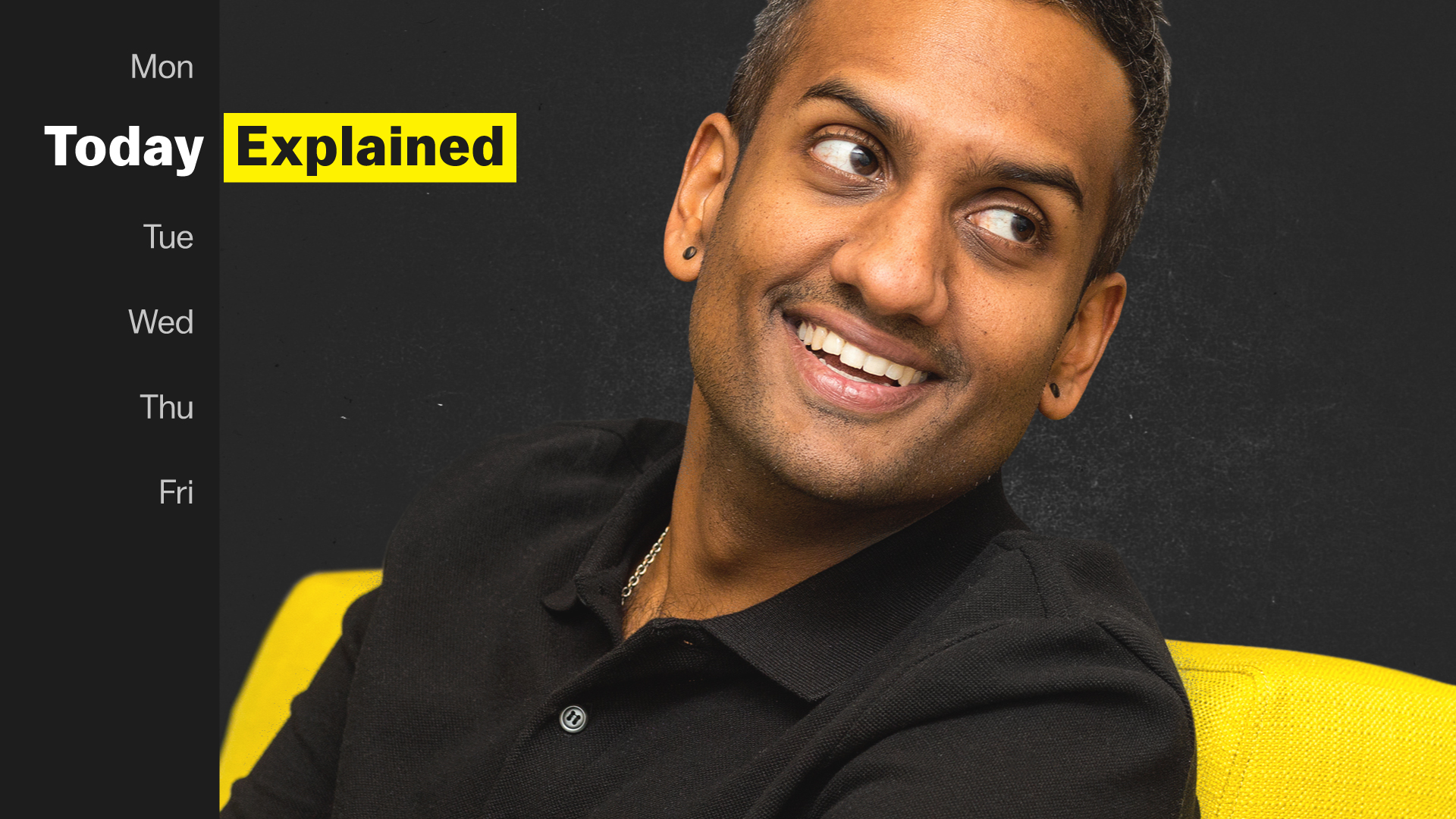 Today, Explained host Sean Rameswaram