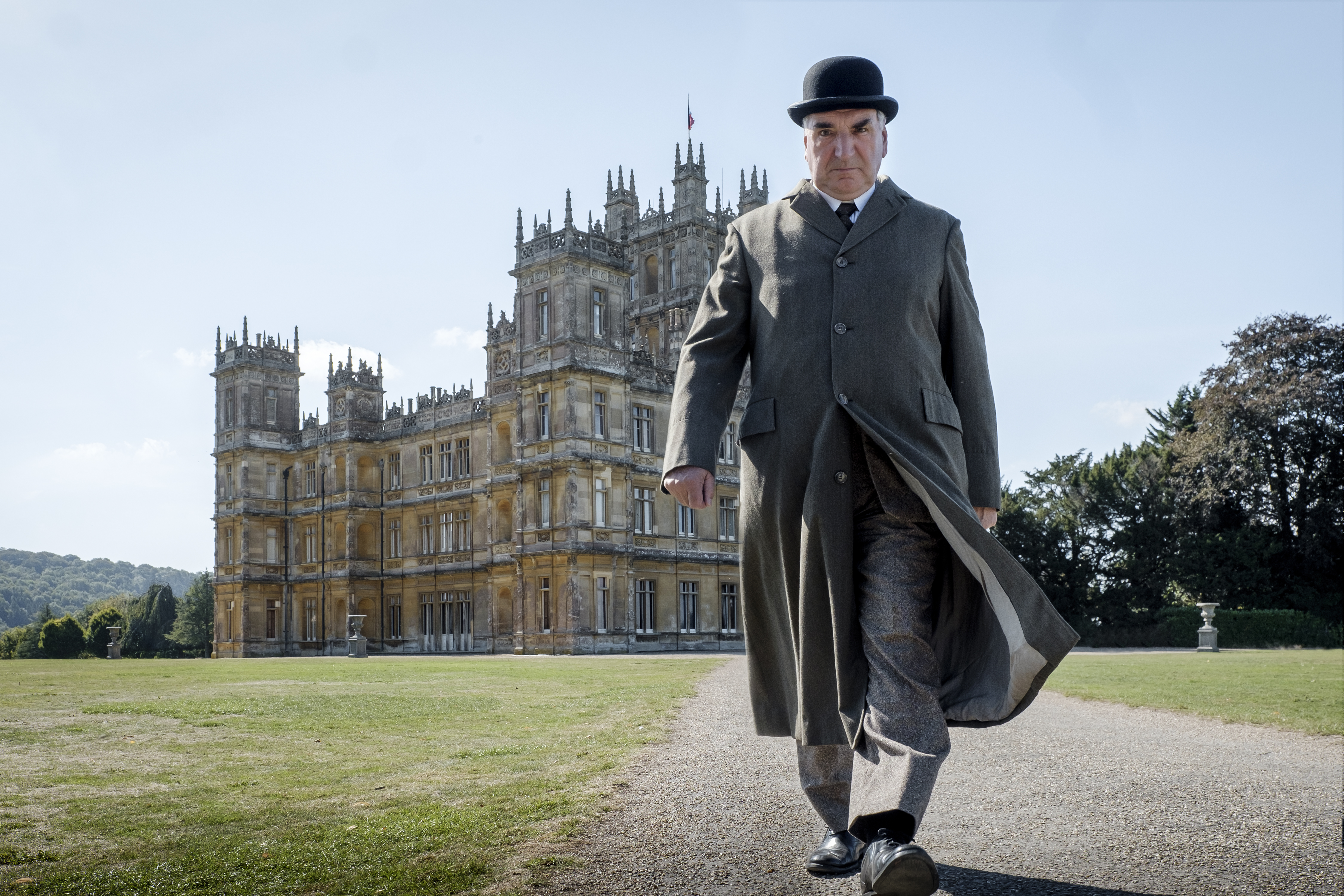 """Jim Carter stars as Charles Carson in """"Downton Abbey,"""" a Focus Features release."""