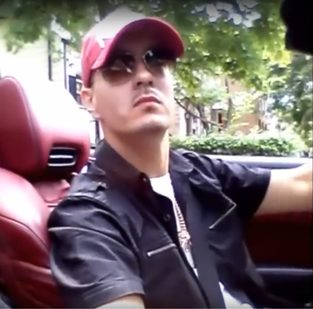 """Thaddeus """"T.J."""" Jimenez is caught on a cellphone video on Aug. 17, 2015, on the Northwest Side. Shortly after, the video caught Jimenez shooting a man in the legs. He's been sentenced to nine years in prison on a federal gun conviction in the case and sti"""