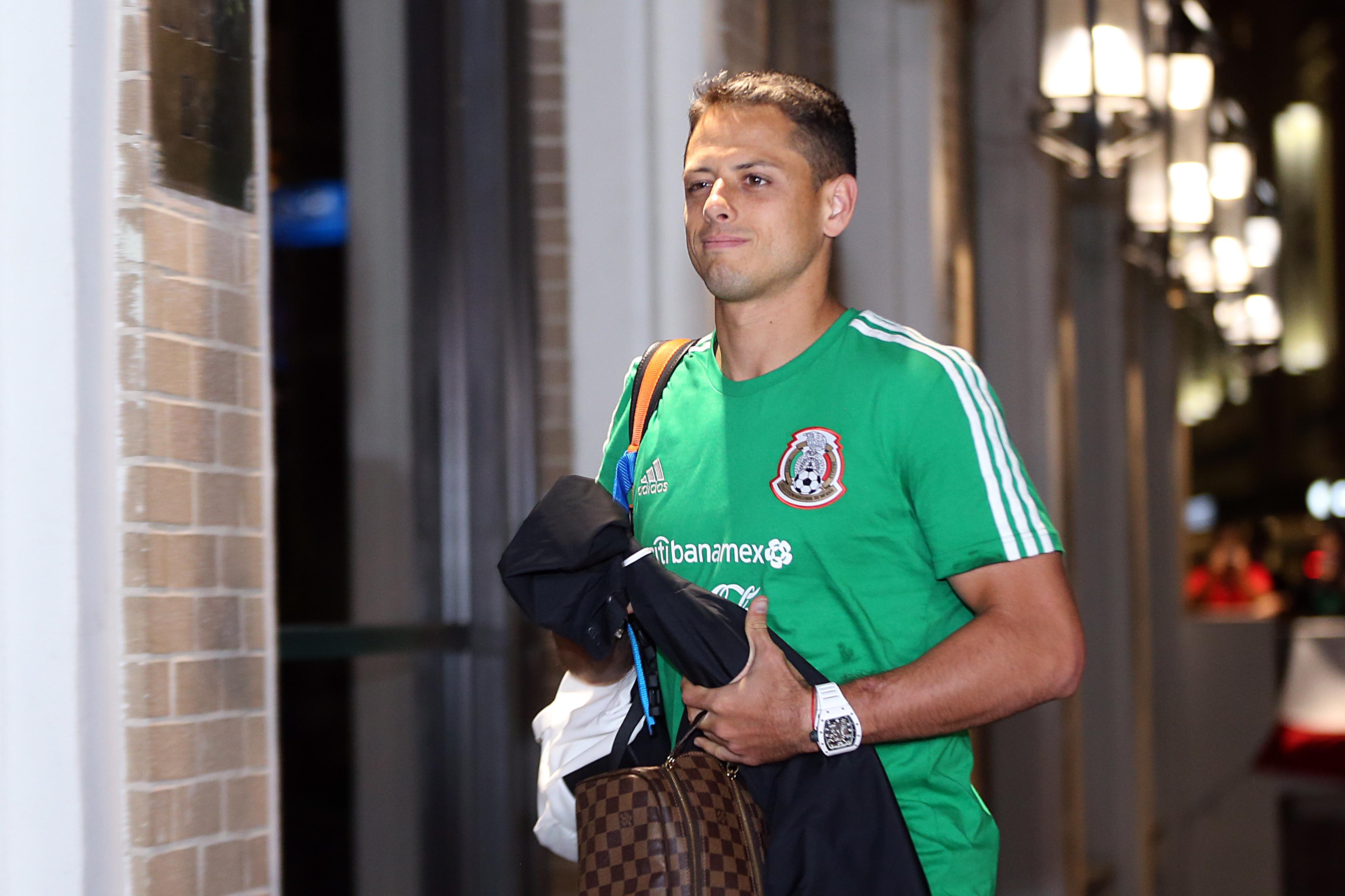 Mexico National Team Arrives To San Antonio