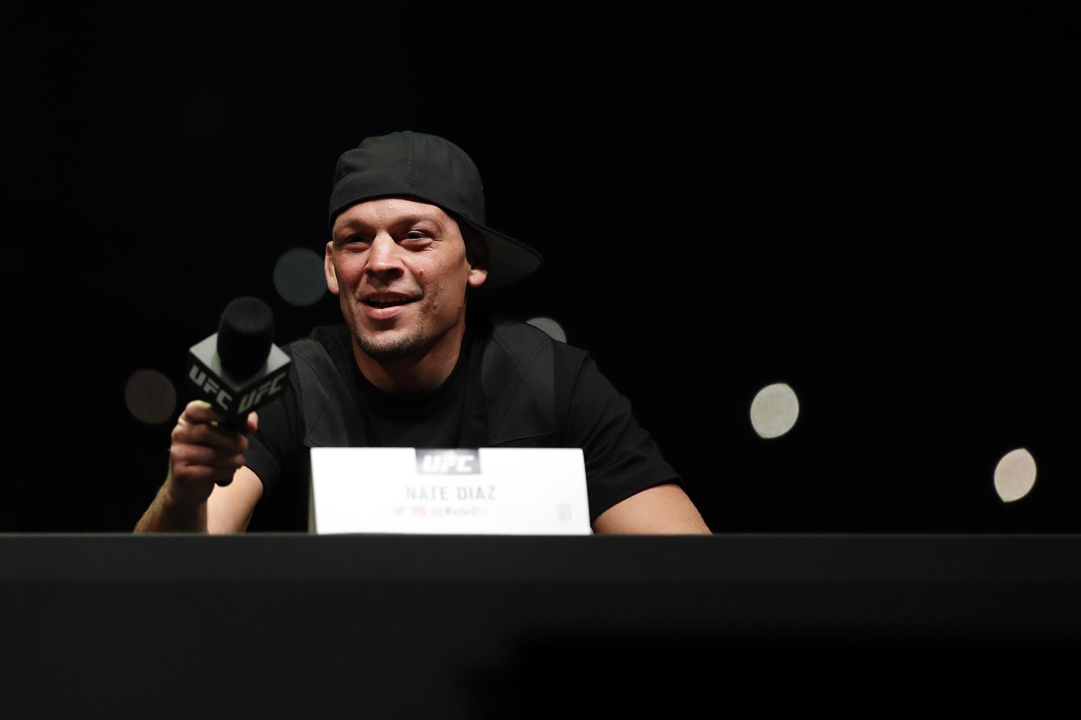 UFC 244 Masividal v Diaz Press Conference