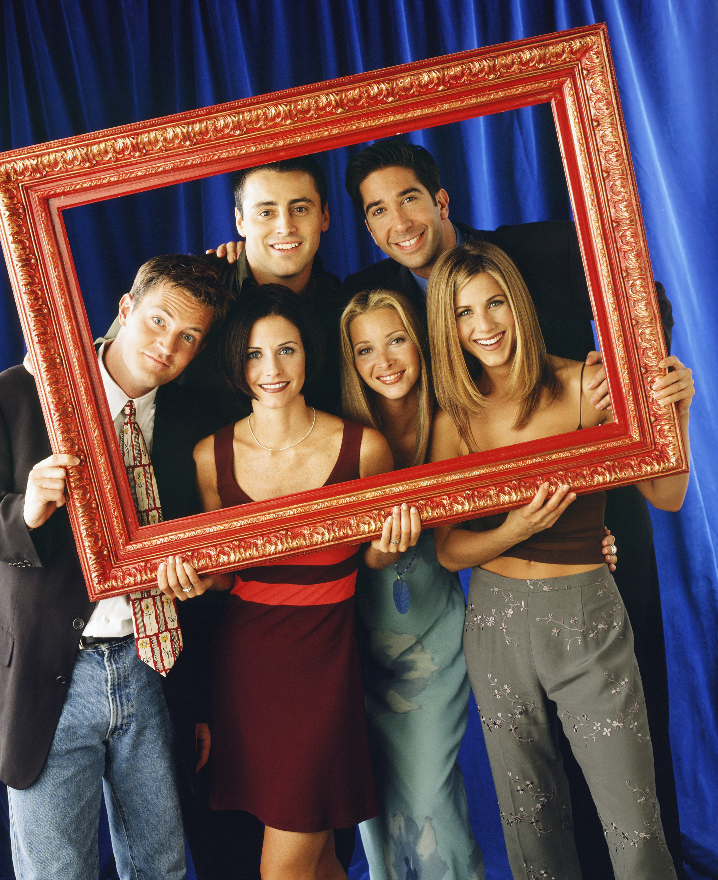 The cast of NBC's Friends.