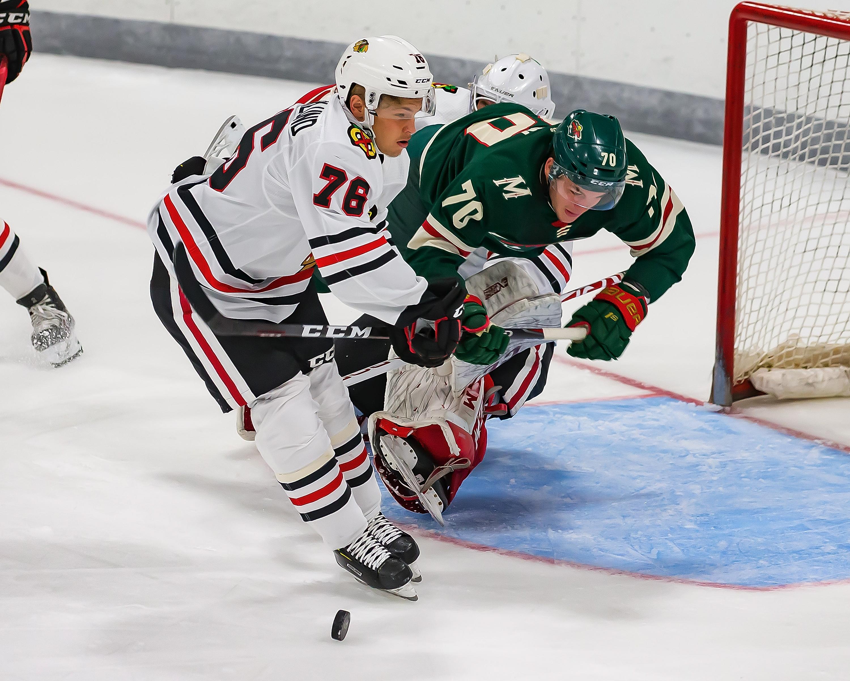NHL Prospects Tournament Day-5 Chicago vs Minnesota