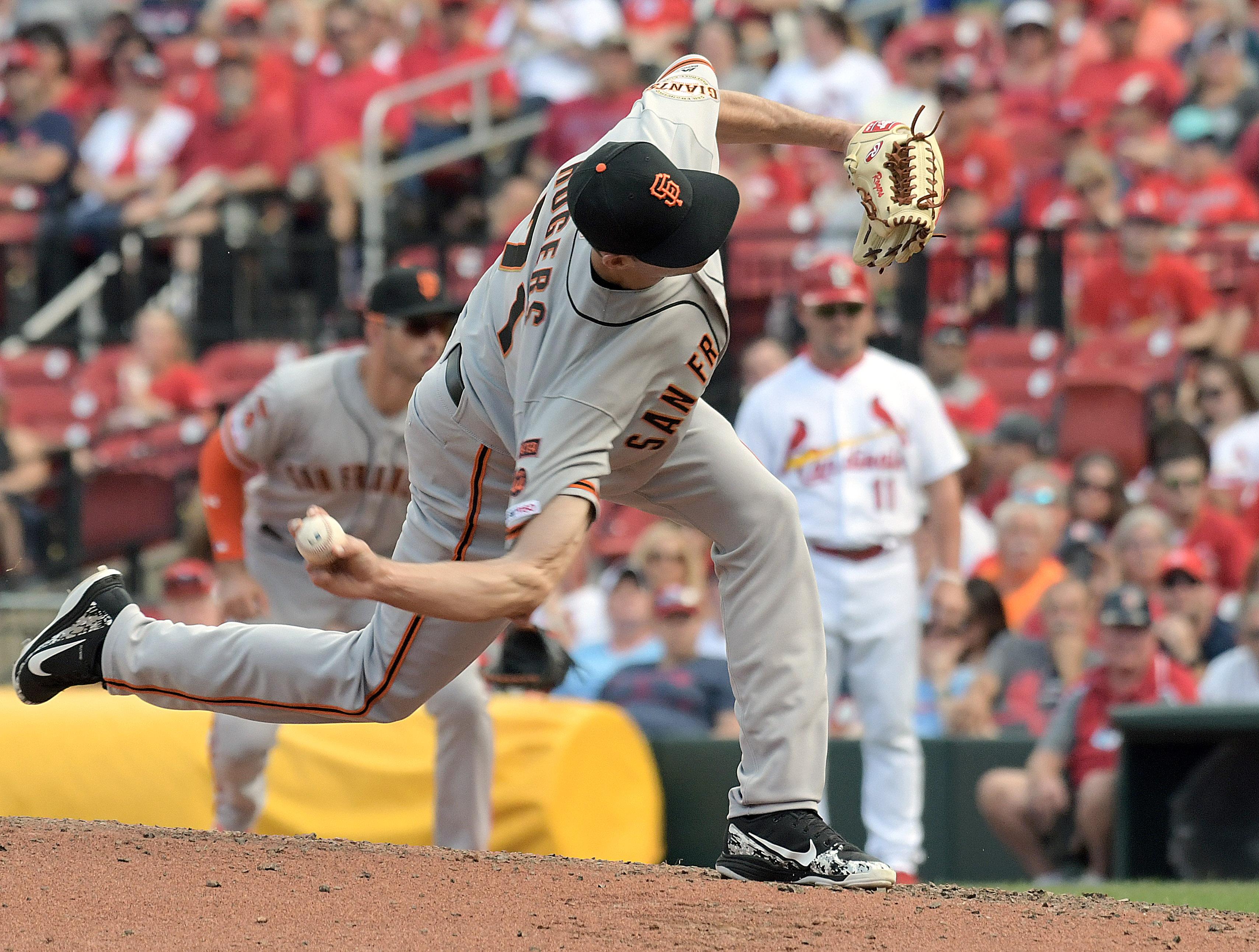 MLB: SEP 02 Giants at Cardinals