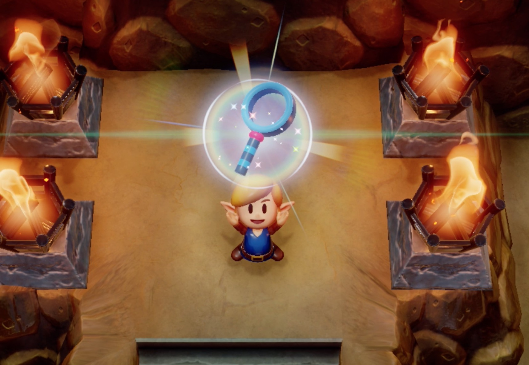 Link's Awakening entire trading sequence walkthrough