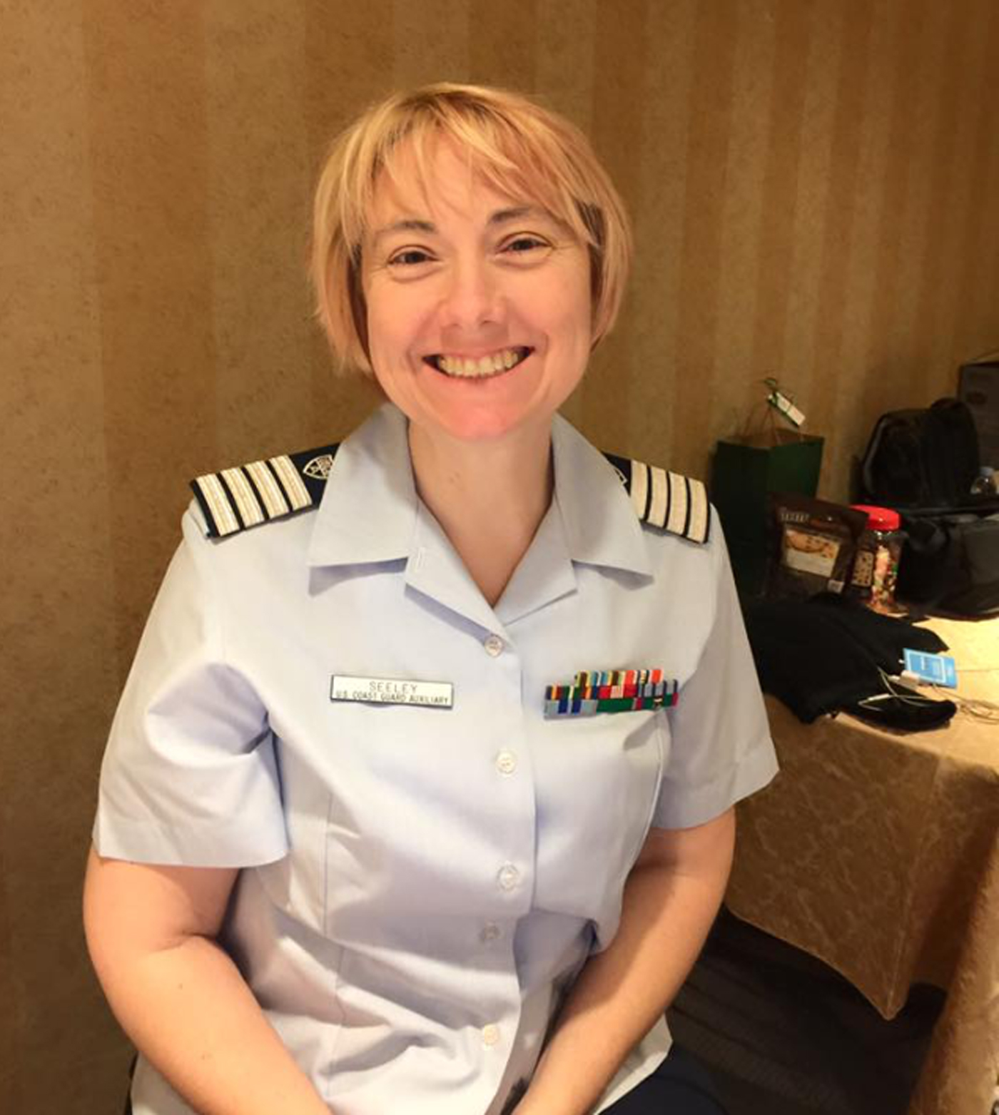 Besides working for the National Weather Service, Amy Seeley was a district captain with the U.S. Coast Guard Auxiliary.