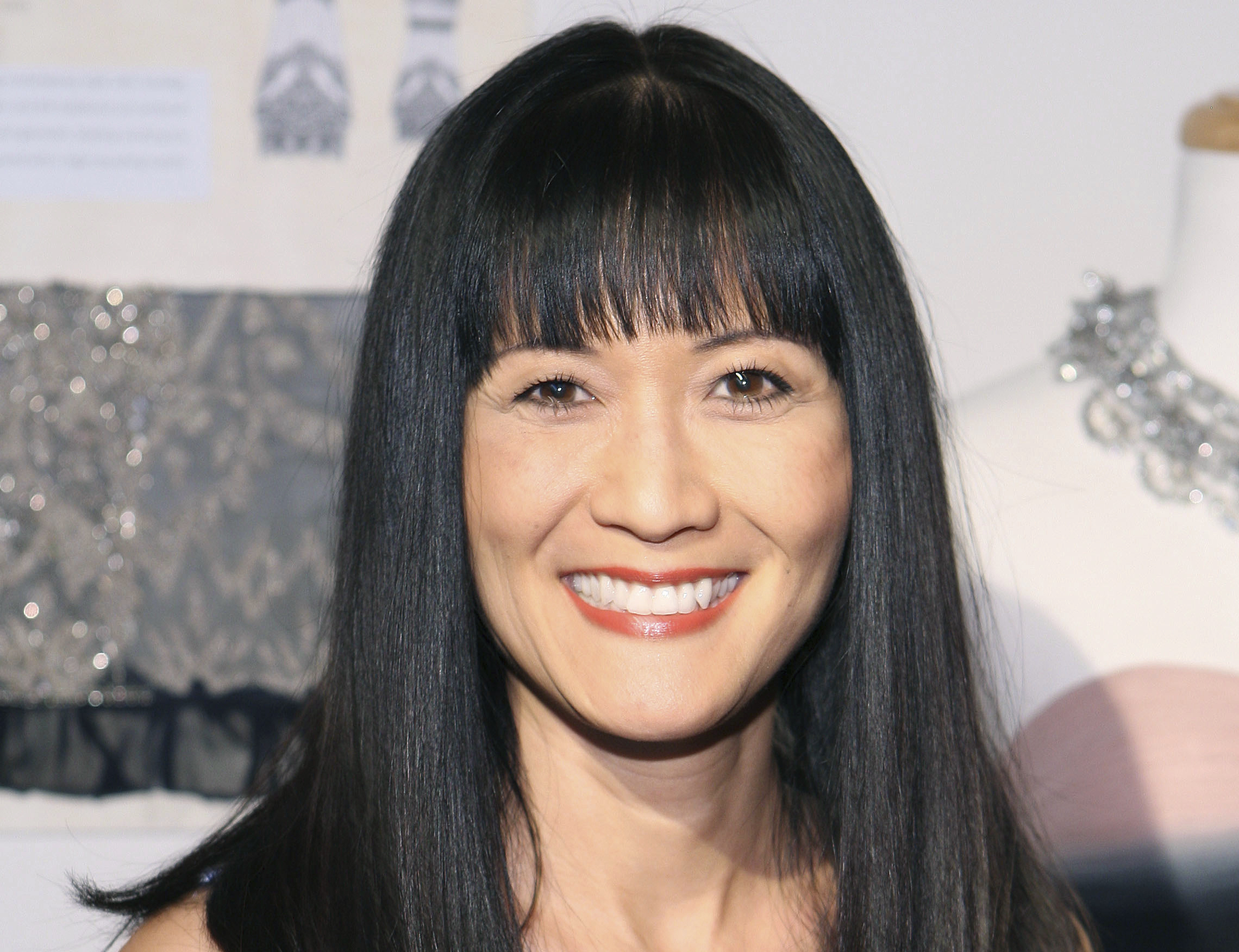 Suzanne Whang attends the Sue Wong Fall 2010 Preview, in Los Angeles.