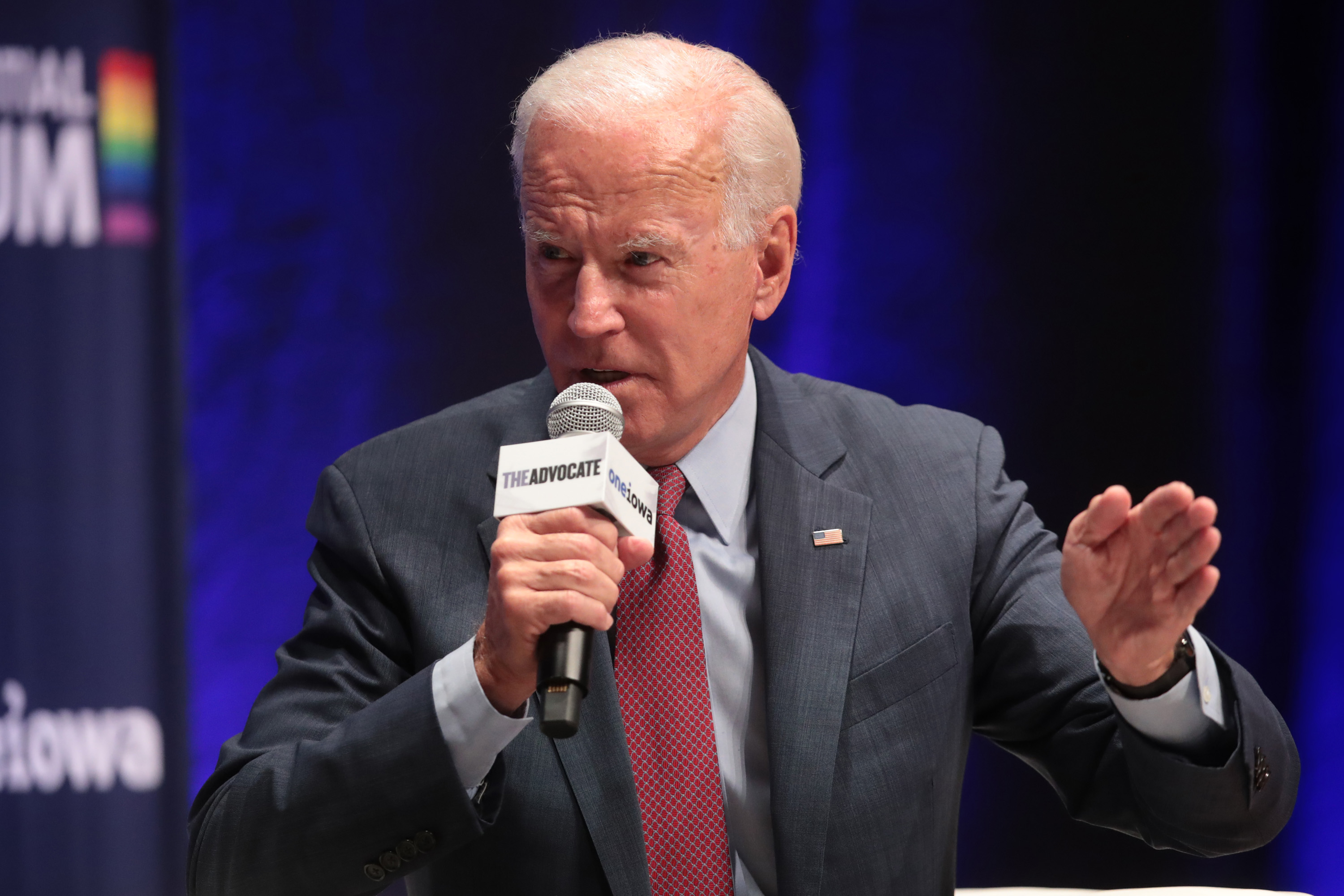 Joe Biden LGBTQ presidential forum