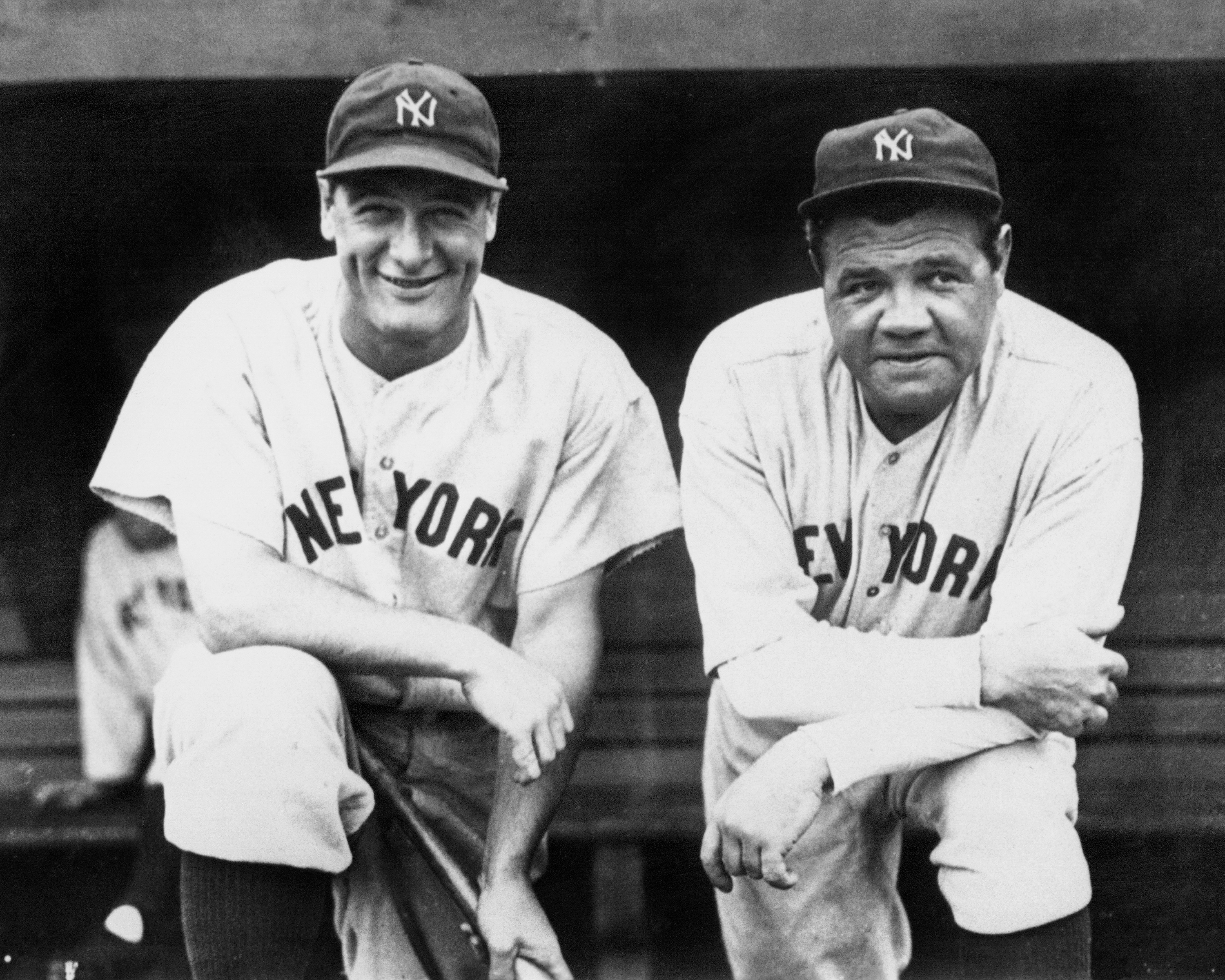 Lou Gehrig and Babe Ruth team up for final championship toge