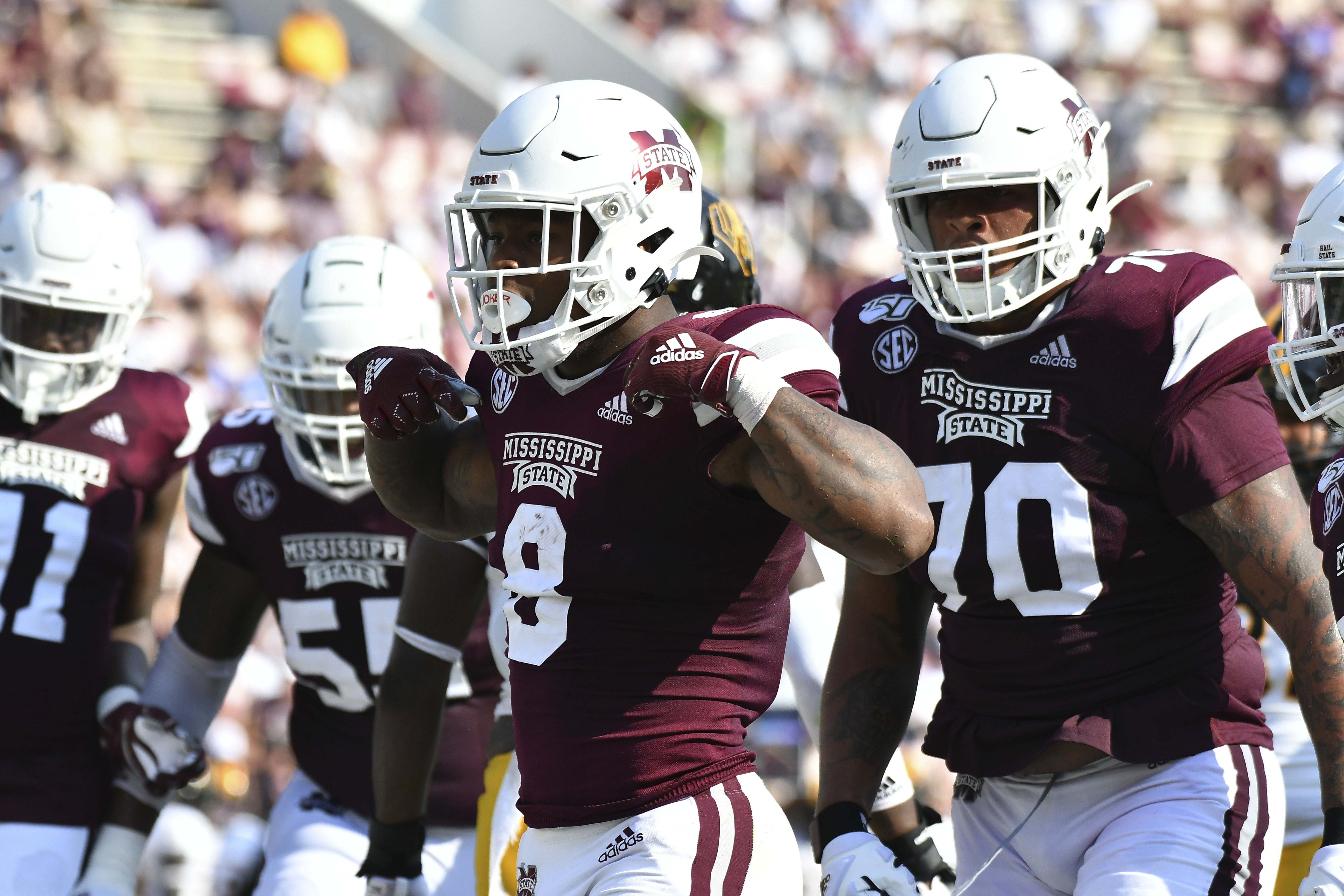 NCAA Football: Southern Mississippi at Mississippi State